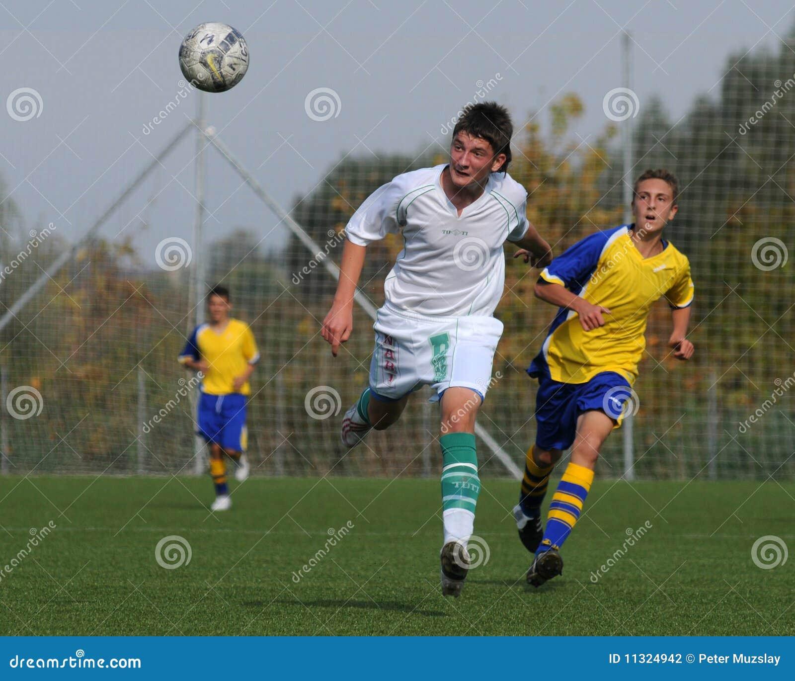 Spiel des Fußballs U15