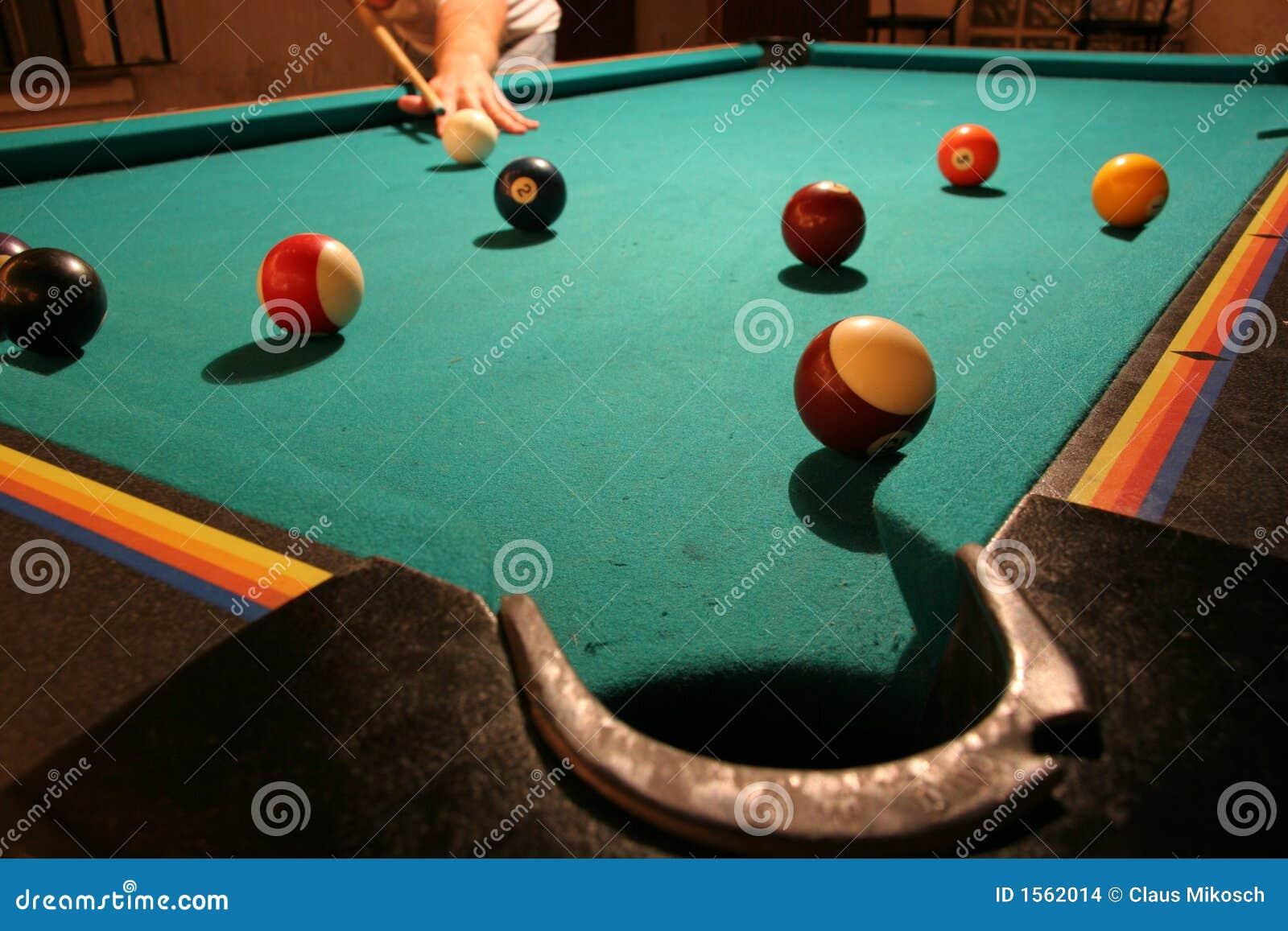 Spiel des Pools