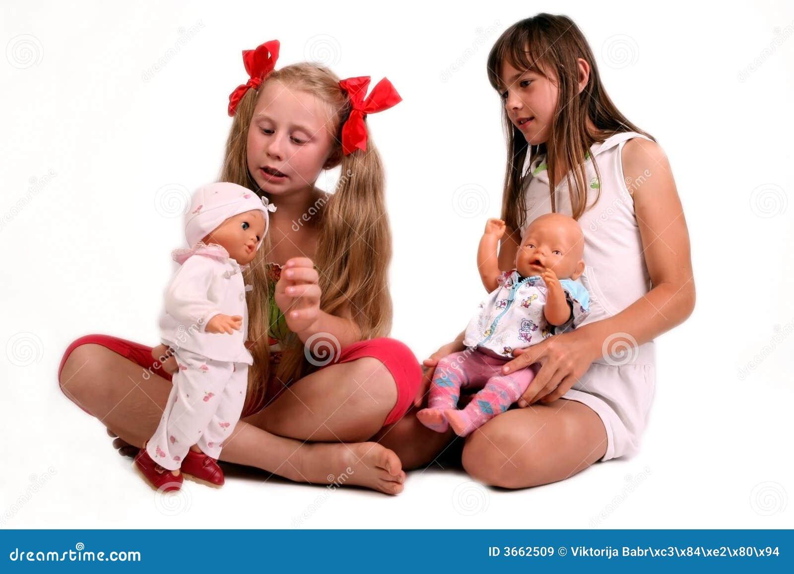 Spielen Mädchen