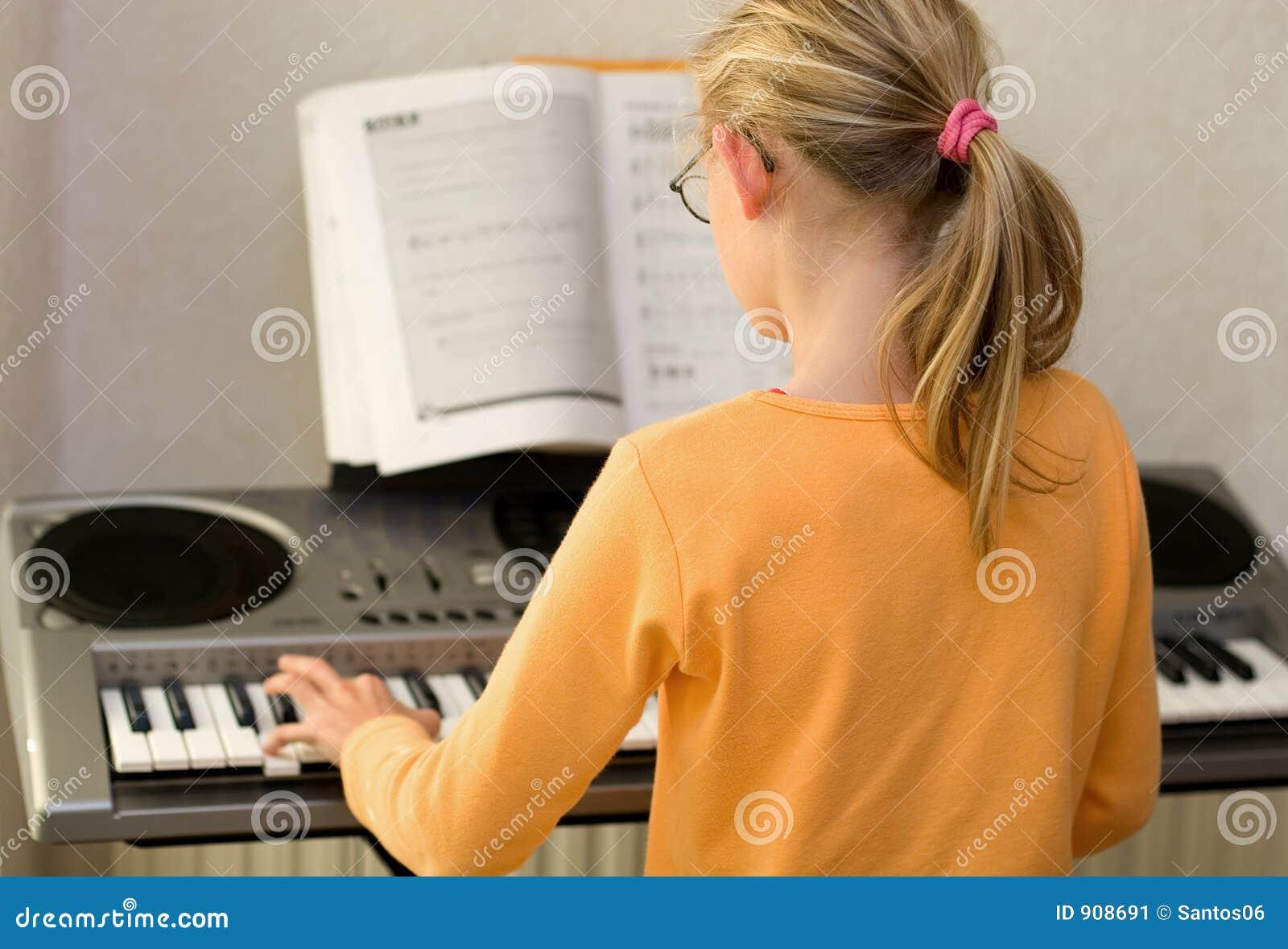 Spielen der Tastatur
