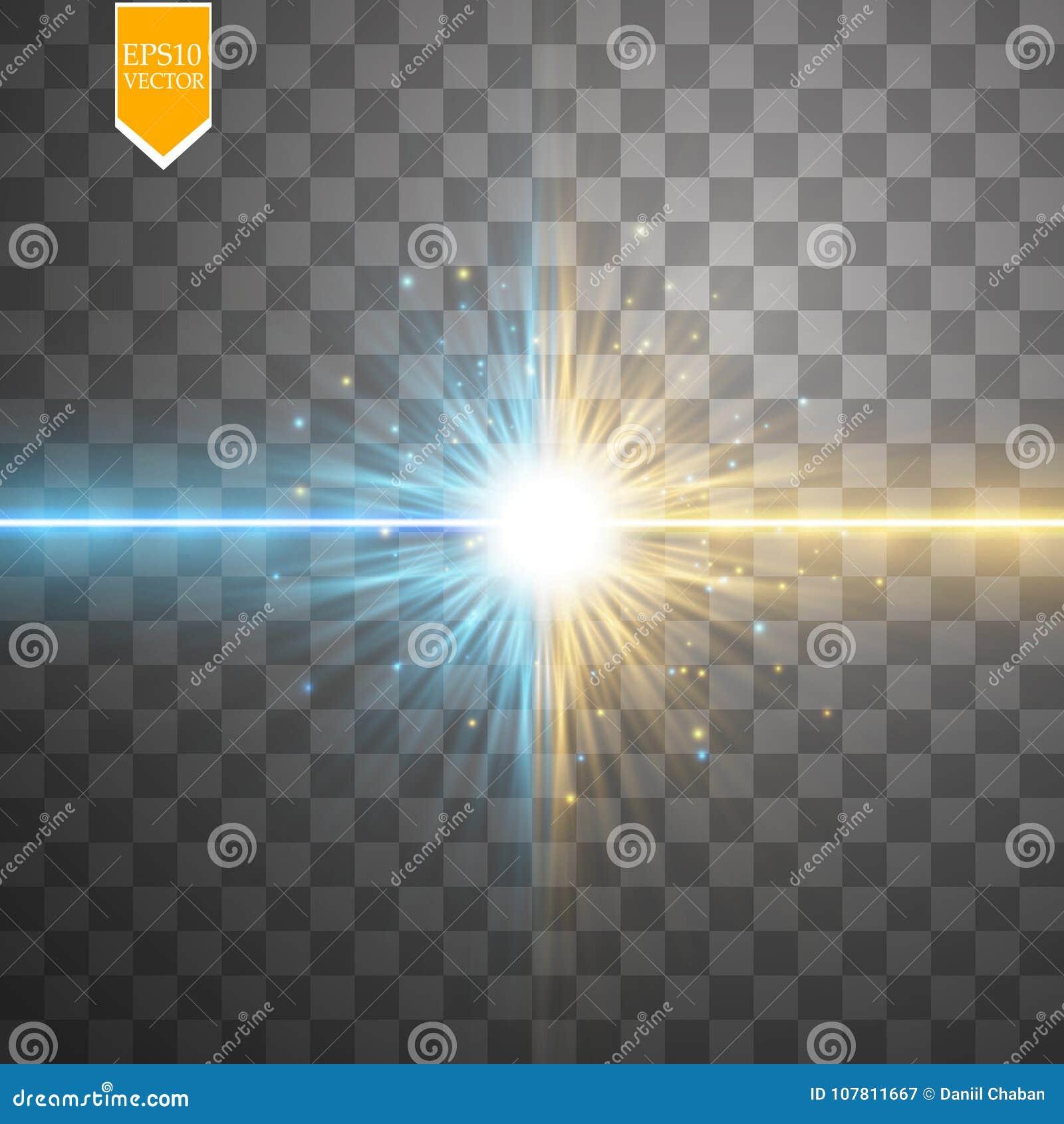 Spielen Sie Lichteffekt des Zusammentreffens und der Explosion, glänzenden Laser-Neonzusammenstoß die Hauptrolle durch stardust a