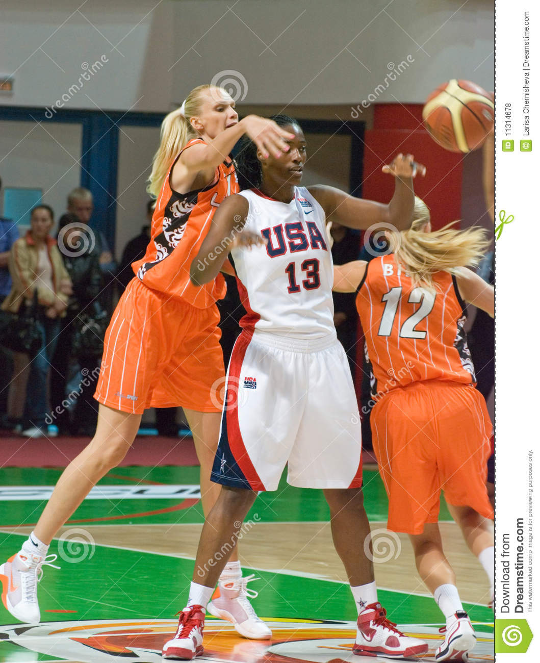 Spielerteam USA-Basketball Silvia Fowles