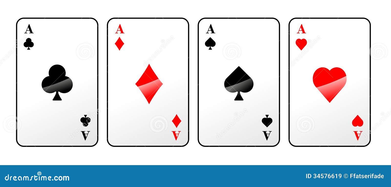 Spiel Karten Farbe