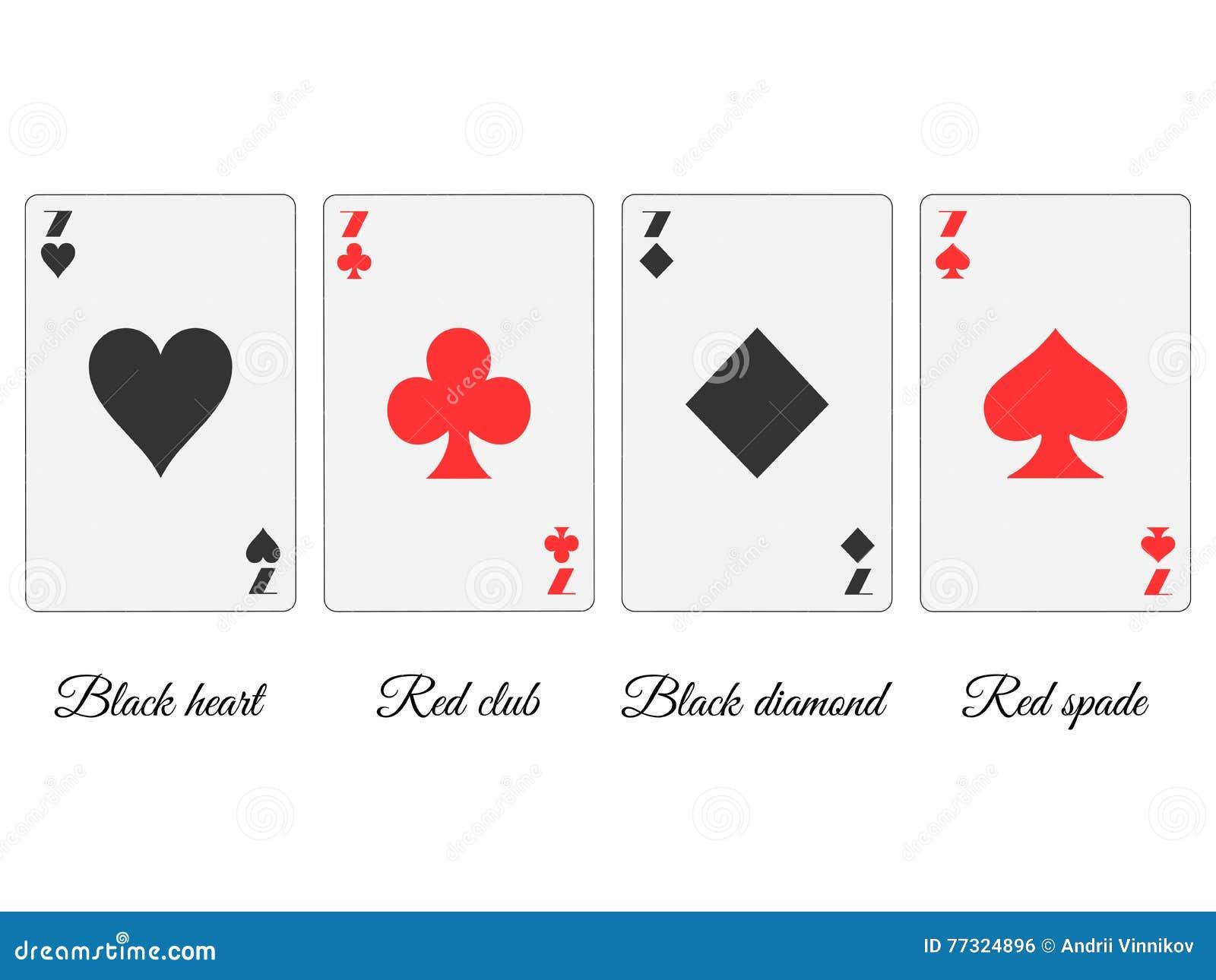 Spielkarten Farben