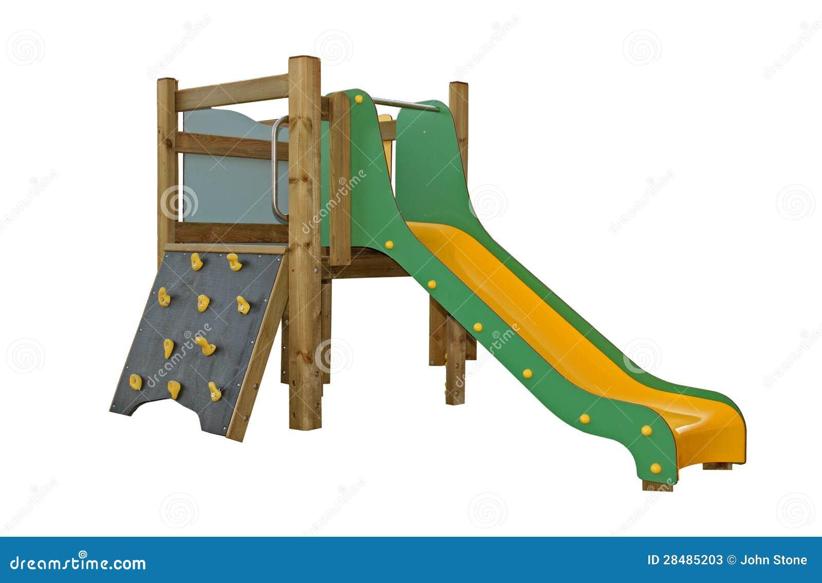 Spielplatzaktivität der Kinder
