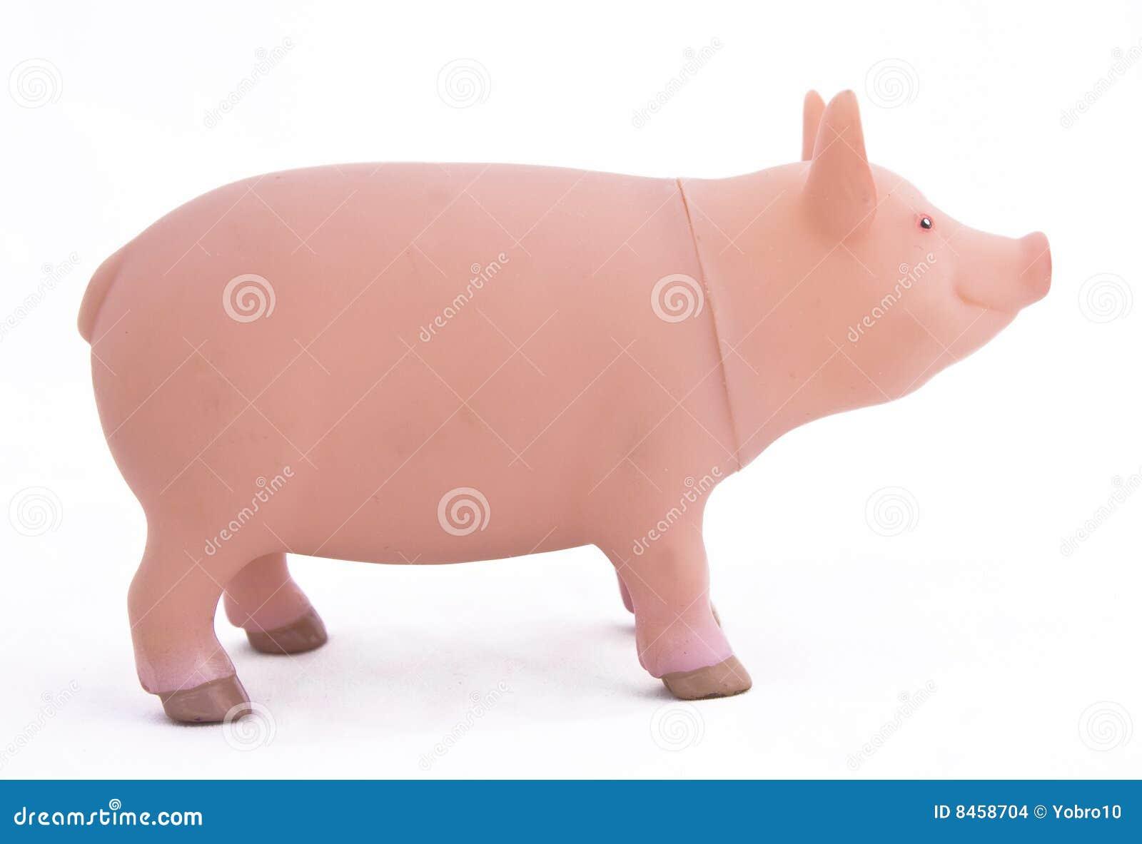Spielzeug-Schwein