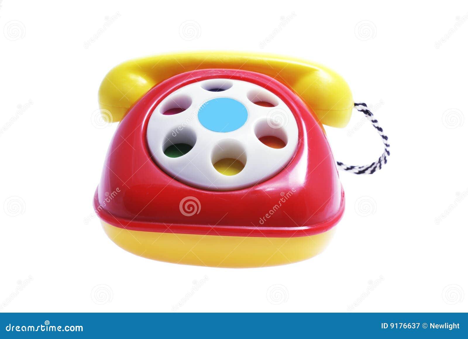 Spielzeug telefon stockbild bild von leben