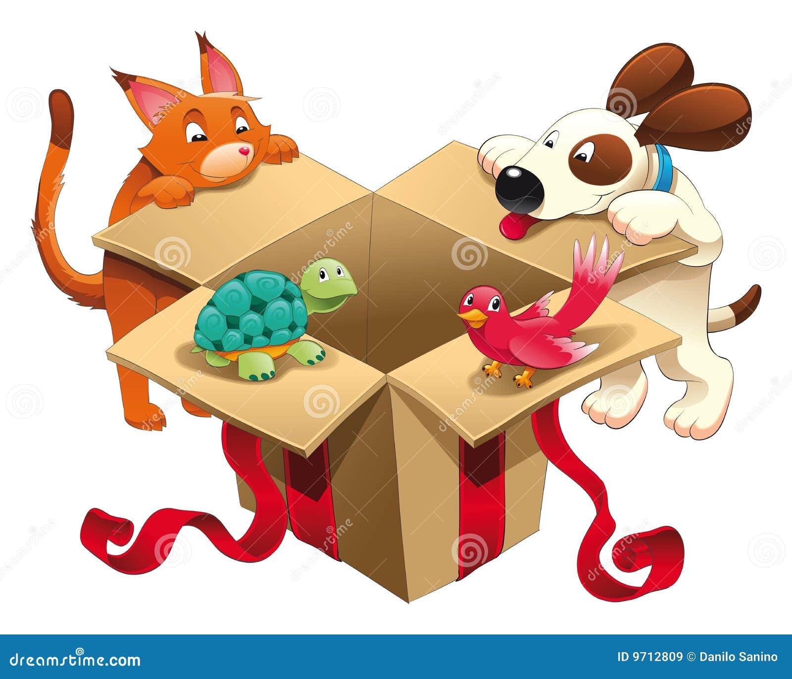 Spielzeug und Haustiere