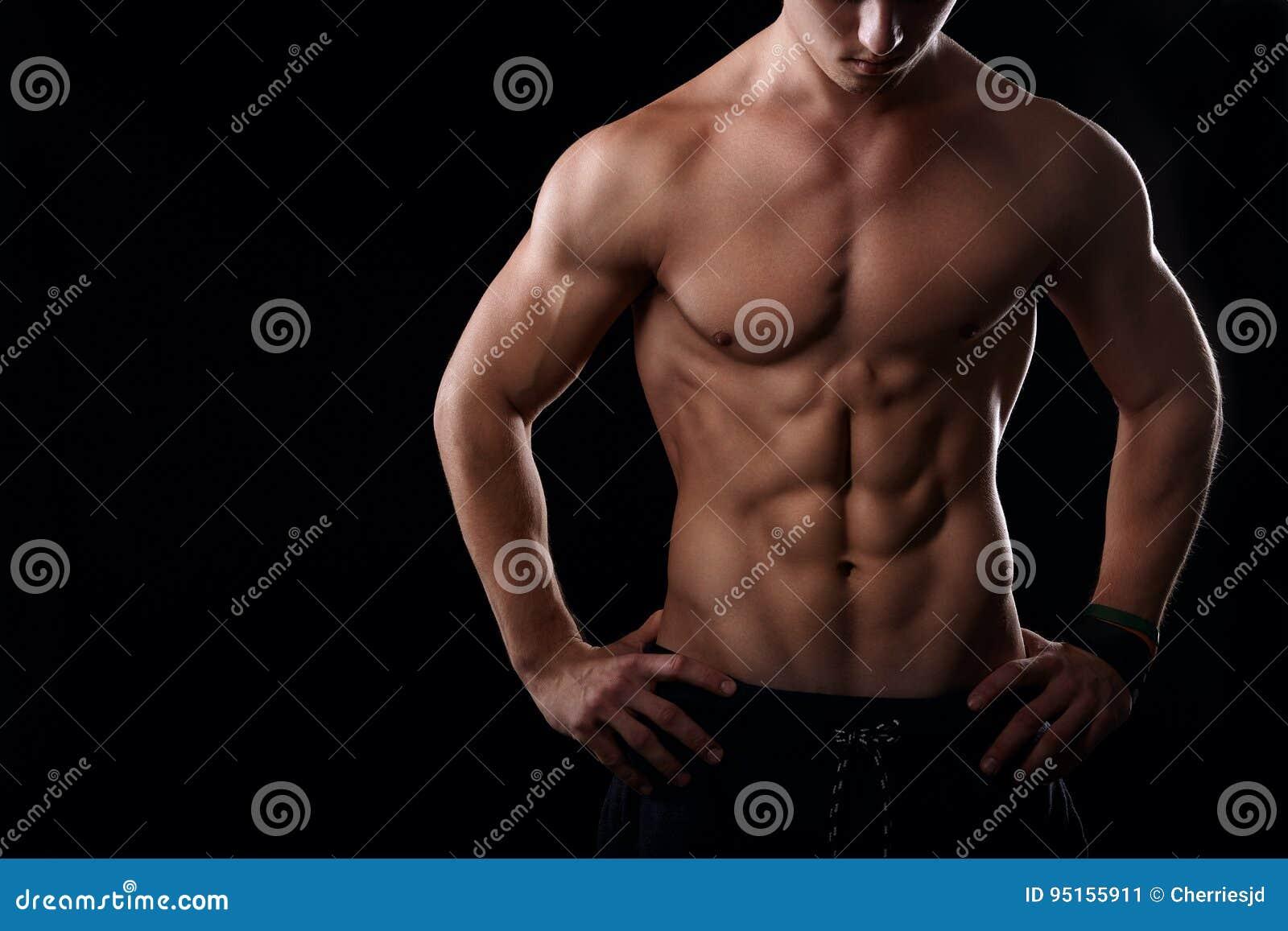Spier mannelijke maag