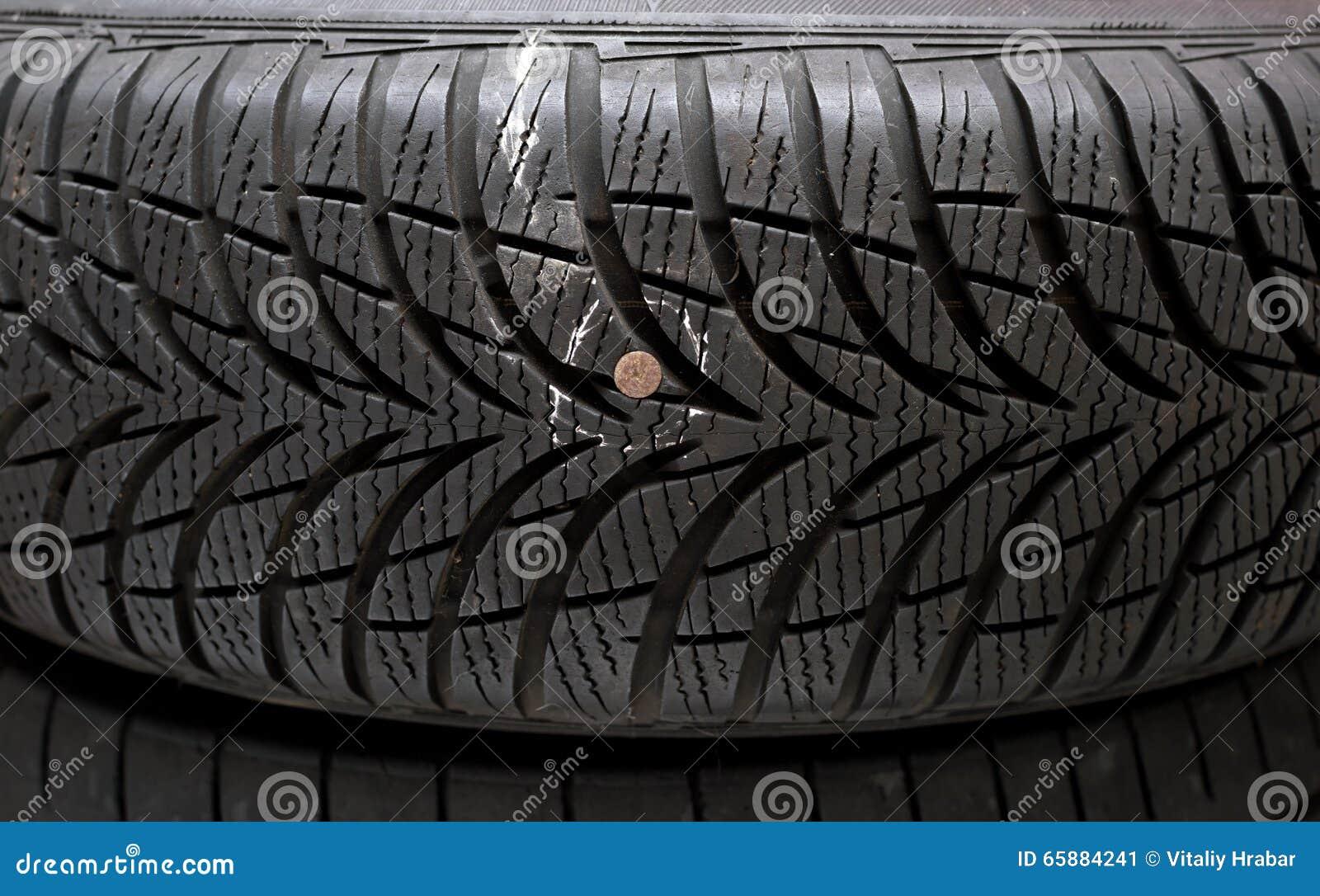 Spika i däck