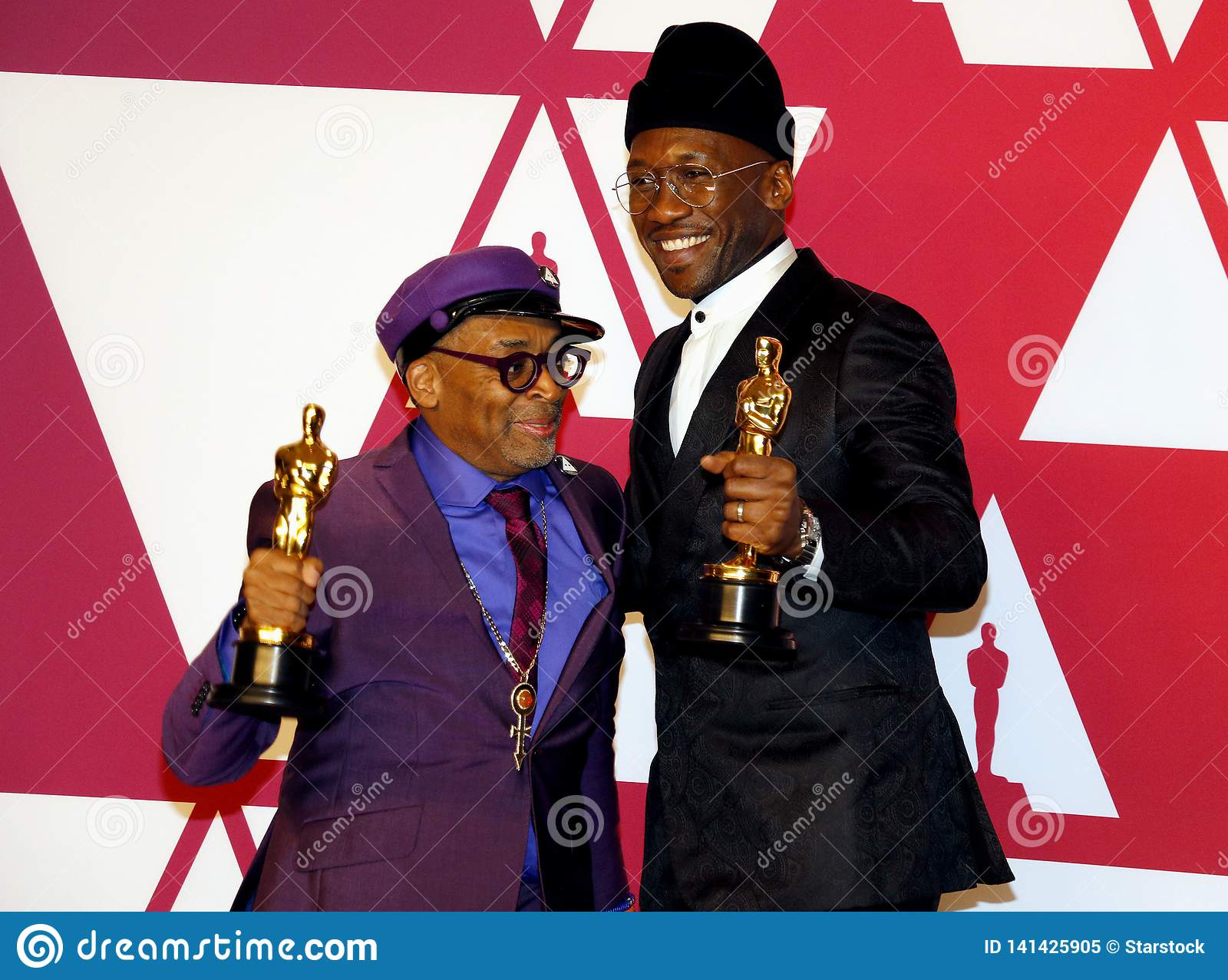 Spike Lee et Mahershala Ali