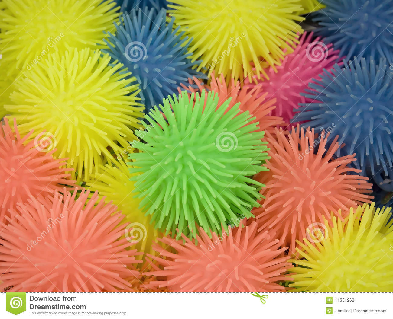 Spikey Balls Stock Photo Image Of Rubber Tentacles
