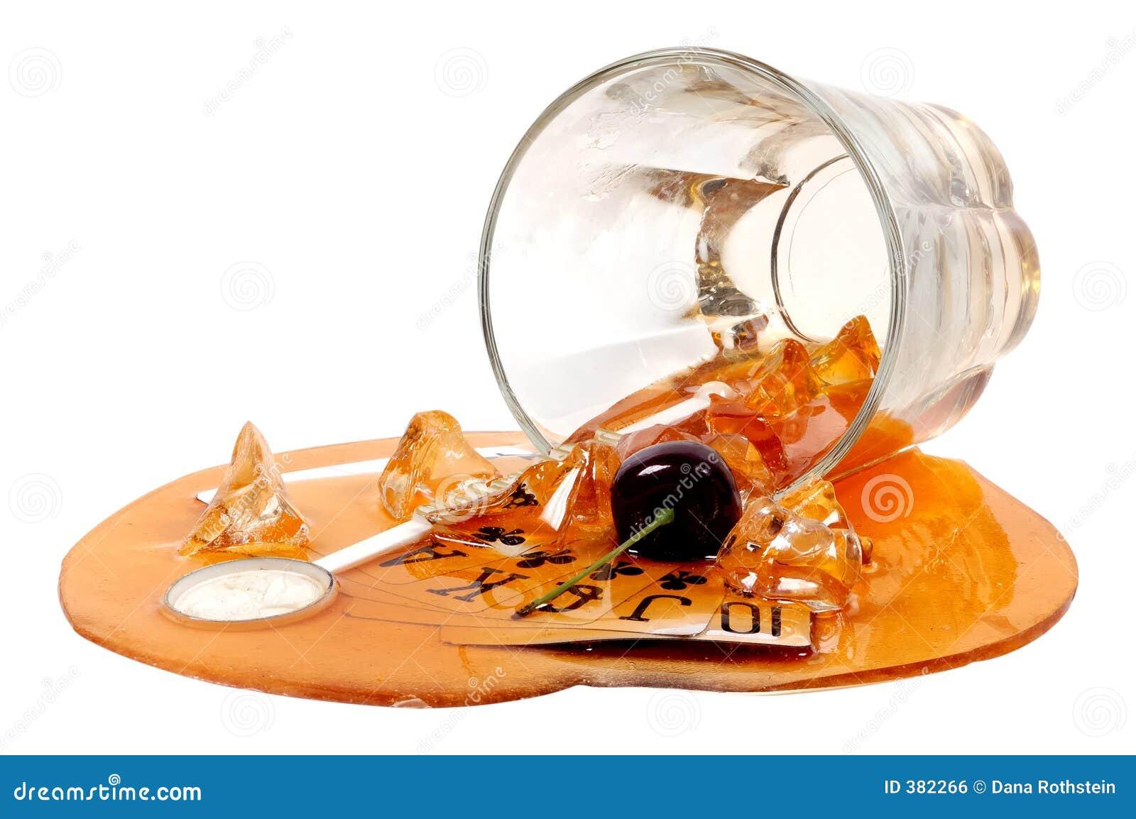 Spilld drink