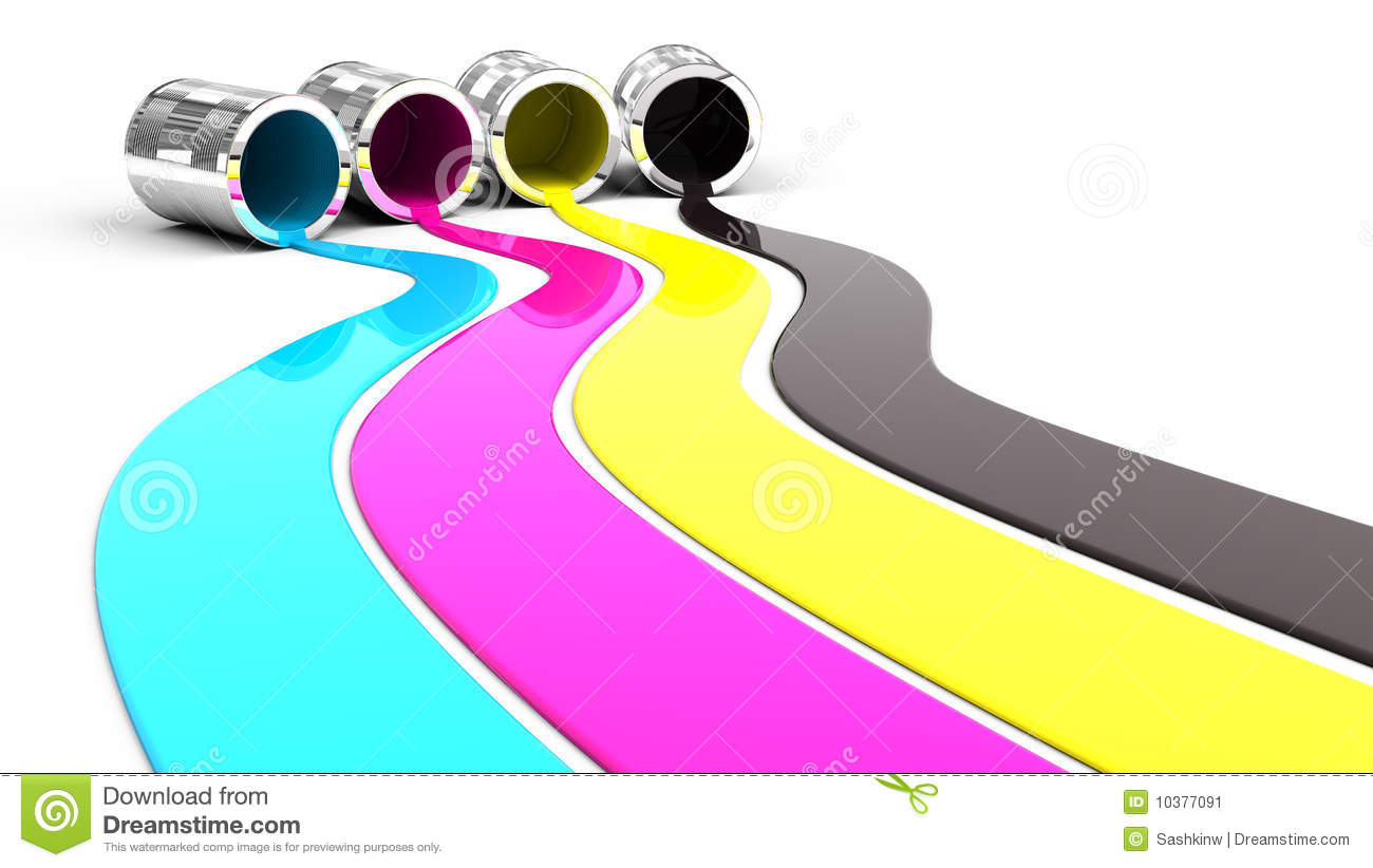 Spilled Paint Stock Image Image 10377091