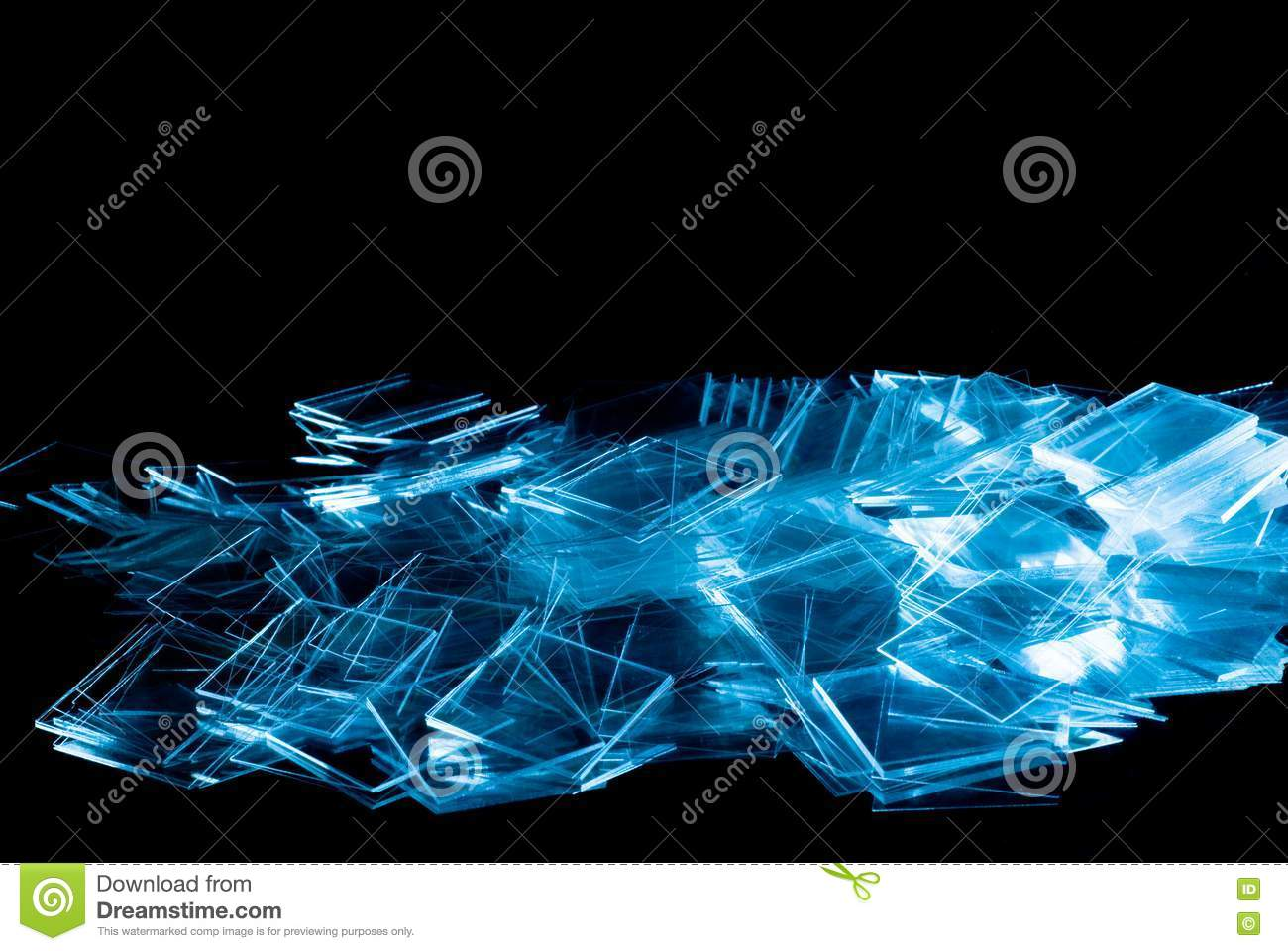 Spilled Thin Glass Stock Images - Image: 19550924