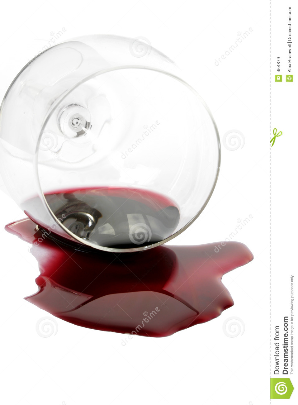 Spilt Red Wine Royalty Free Stock Images - Image: 454879