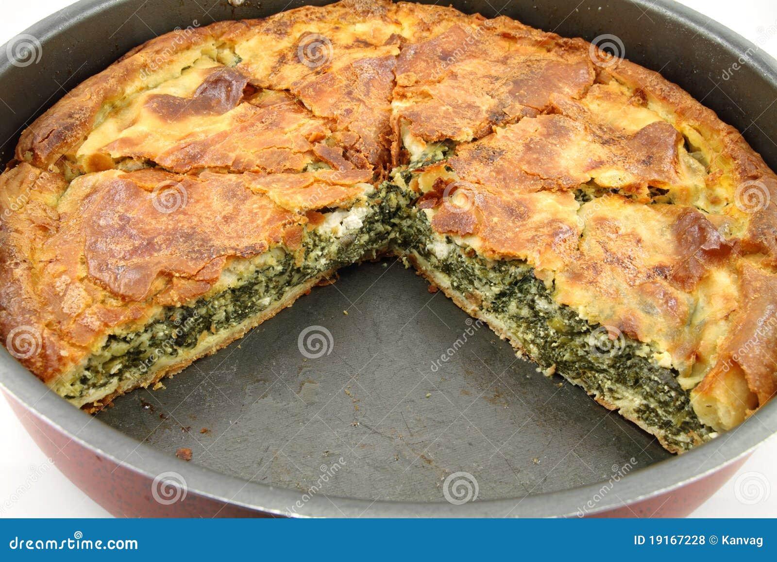 Spinach Pie ( Spanakopita ) Royalty Free Stock Photos - Image ...