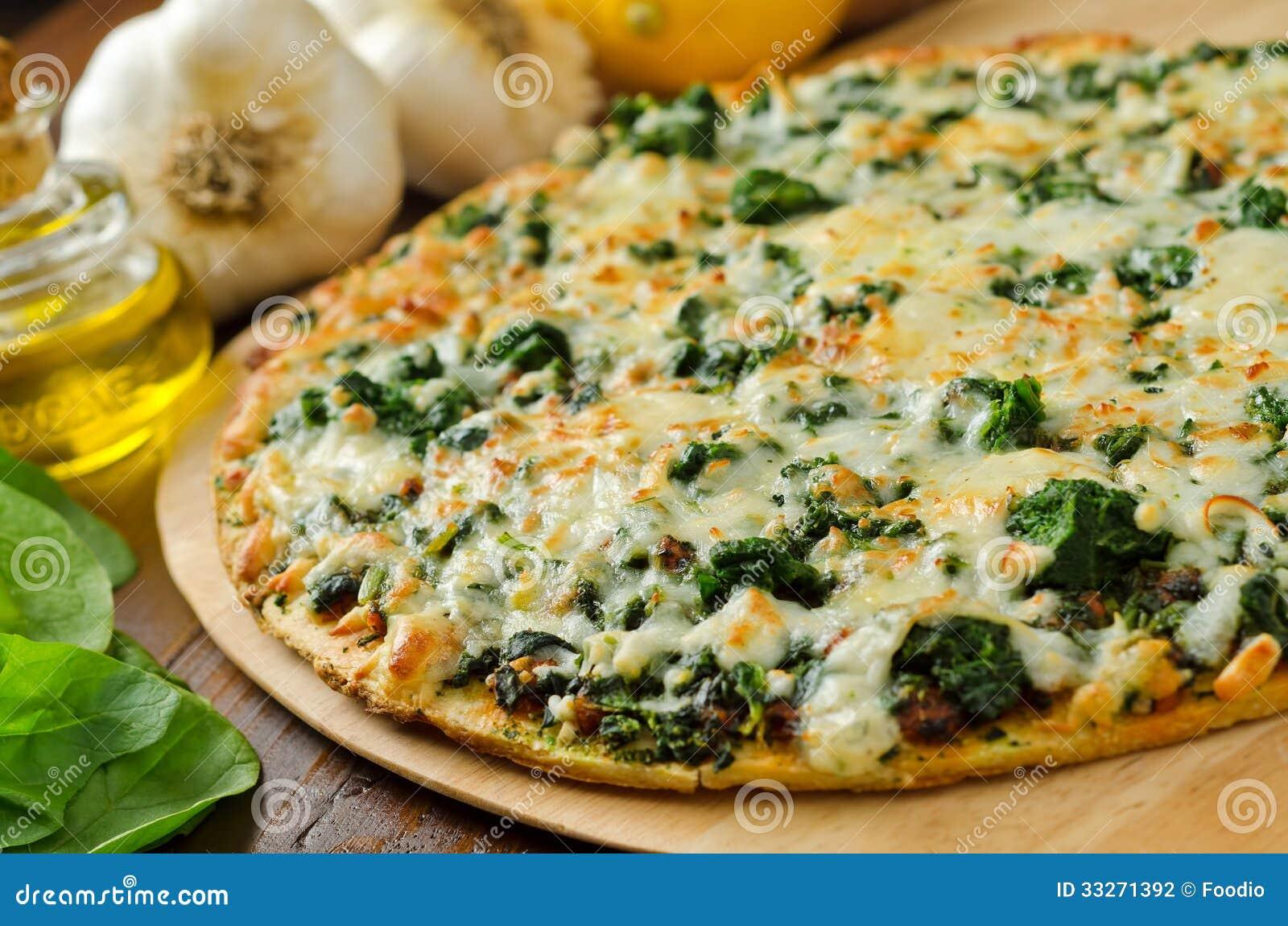 Spinaziepizza