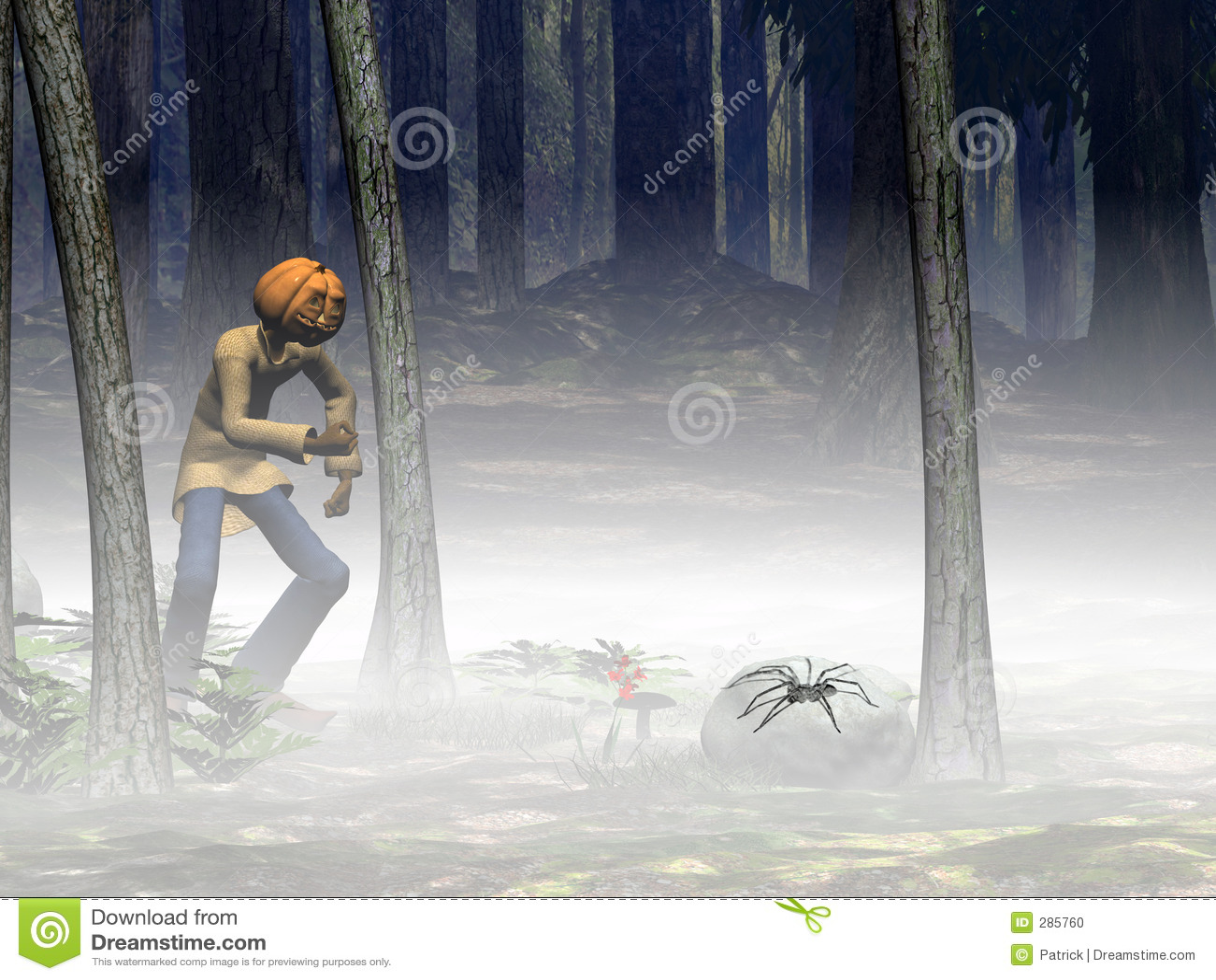 Spindel för halloween stålarpumpa