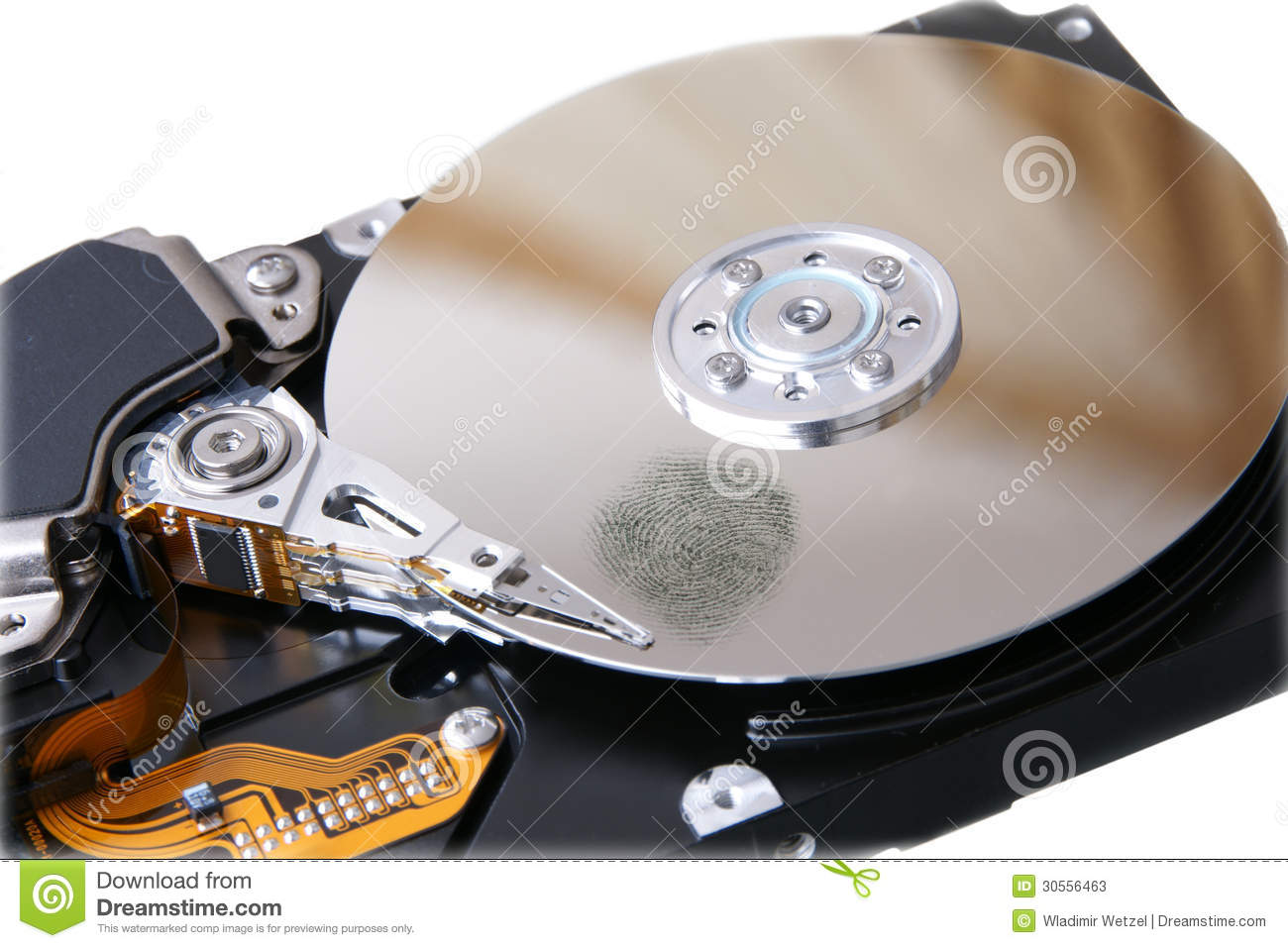 how to clean hard disk drive