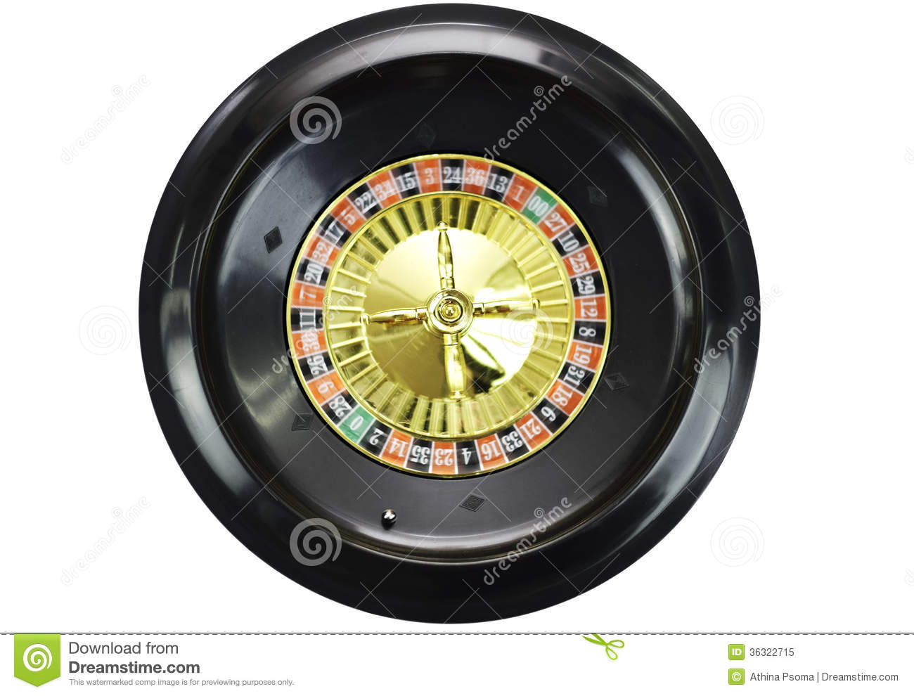 free roulette wheel spin