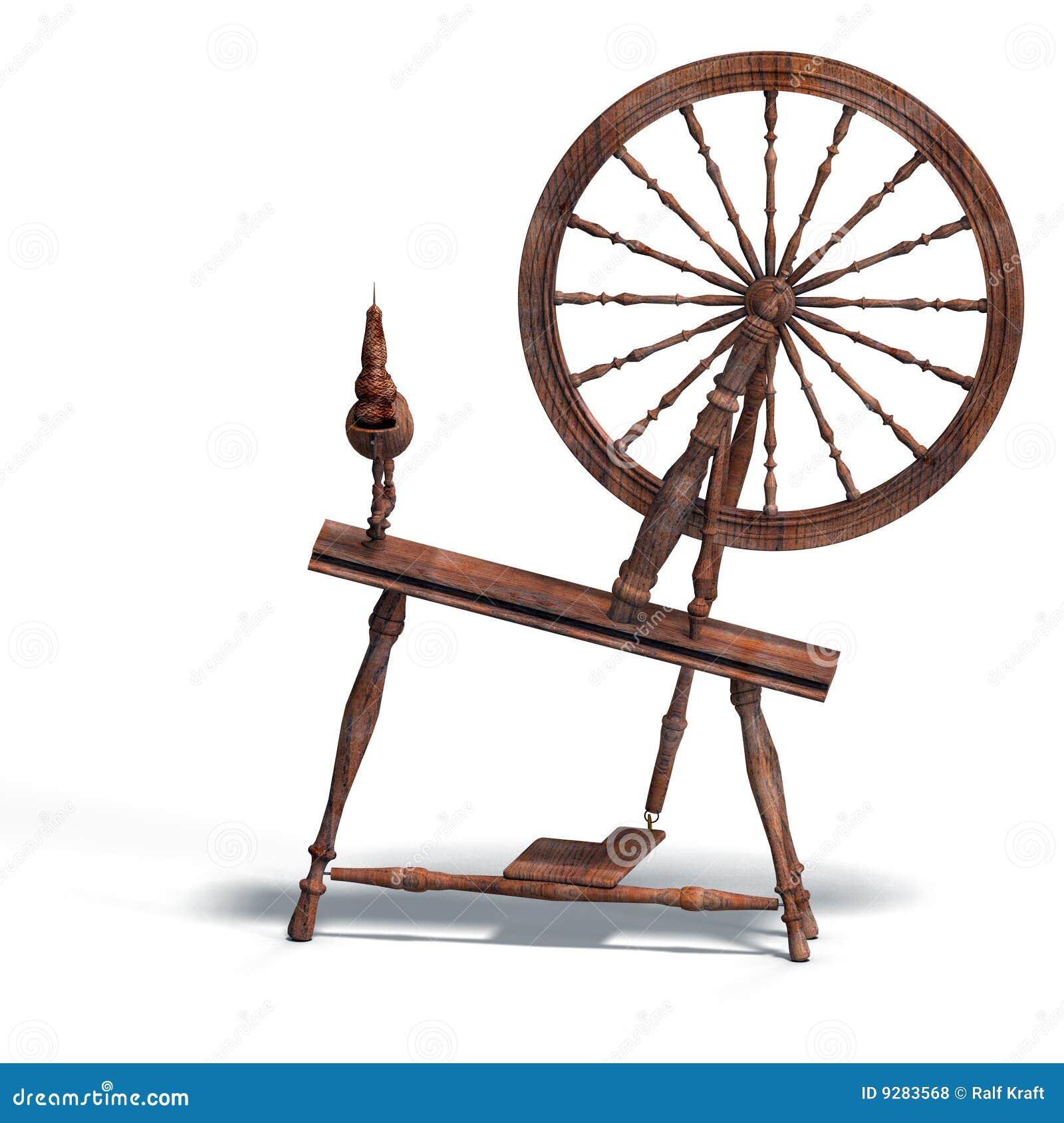 Rendering of spinning ...