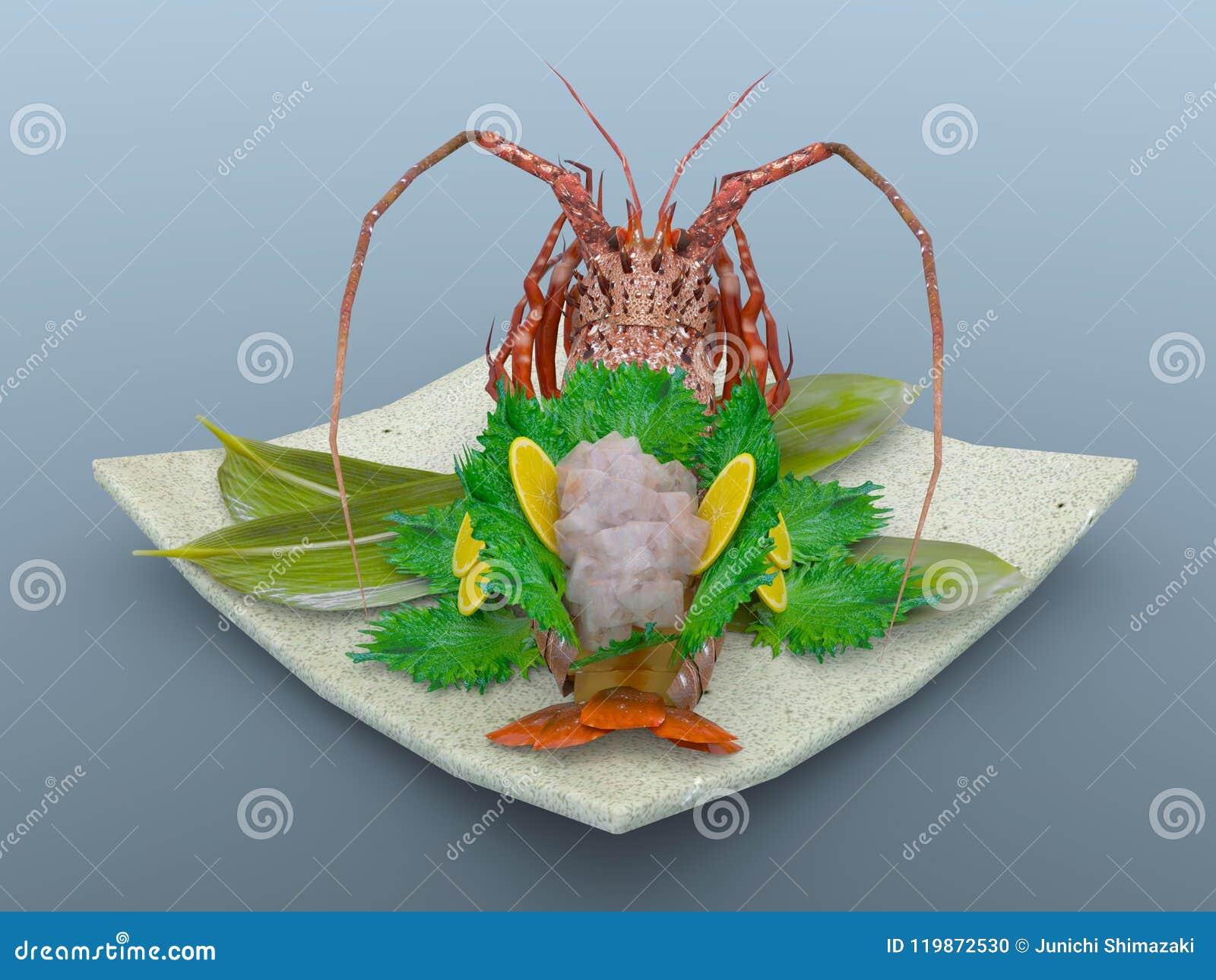 Spiny japansk hummer
