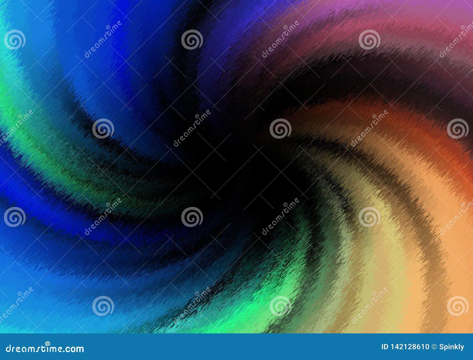 Spiraal gekleurd achtergrondgradiëntbehang