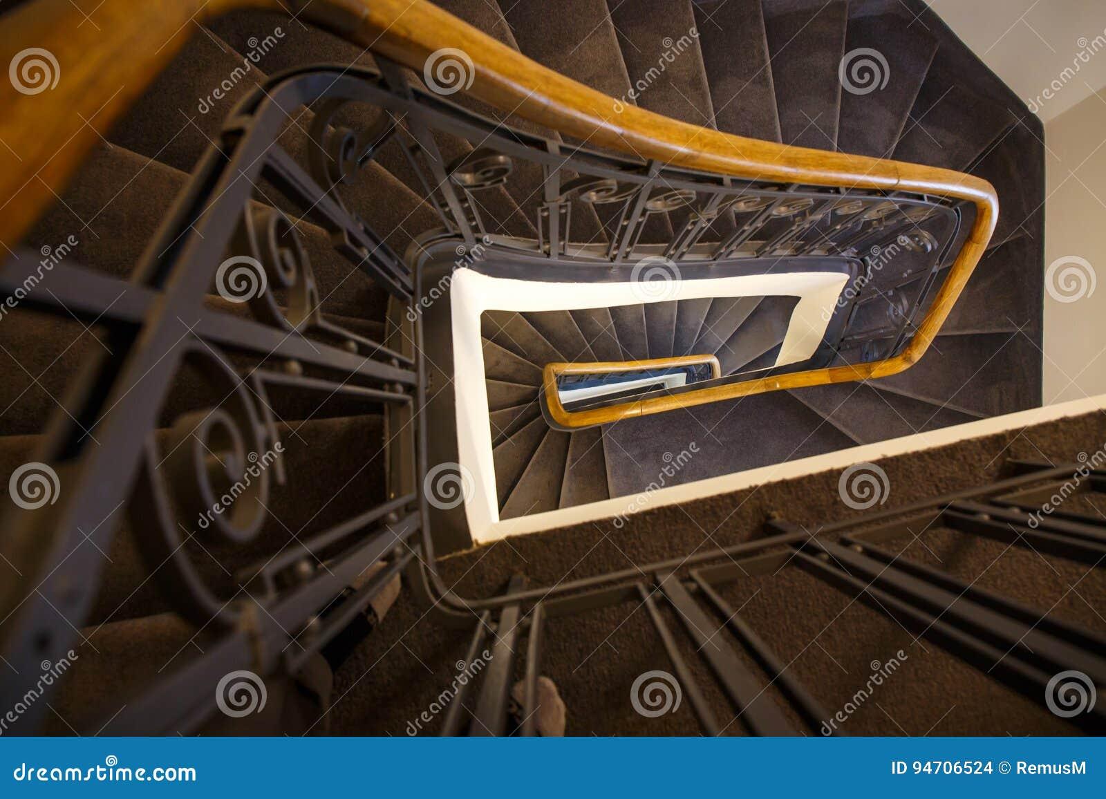 Spiraal van stappen