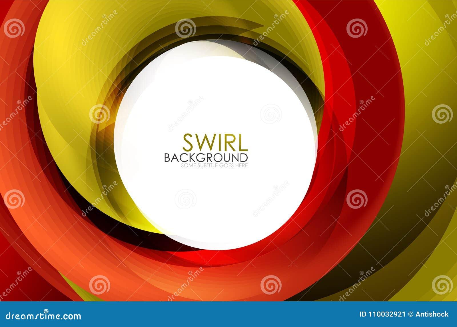 Spiraalvormige 3d het effect van wervelings stromende lijnen abstracte achtergrond
