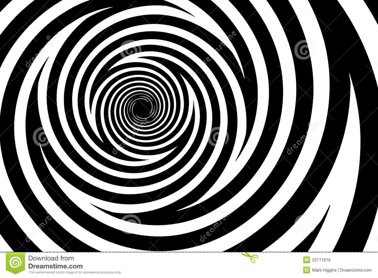 Spiral Background Stock Photo. Image Of Rotates, Pattern
