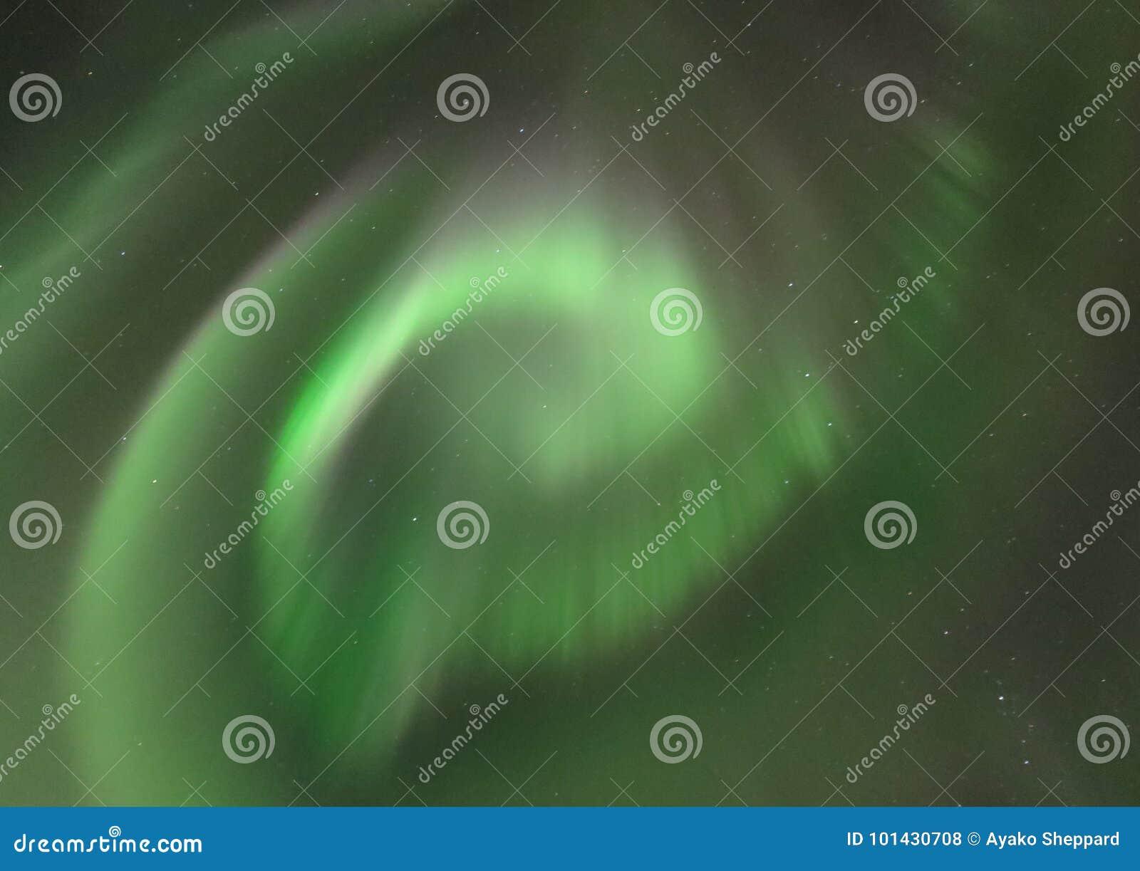 Spiral för nordligt ljus