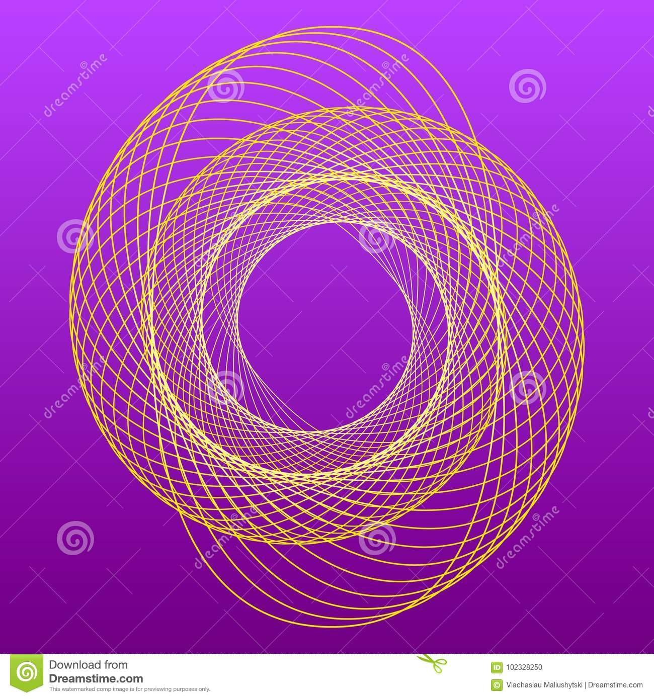Spiral Logo For Your Design Studio Stock Vector Illustration Of Icon Abstract 102328250