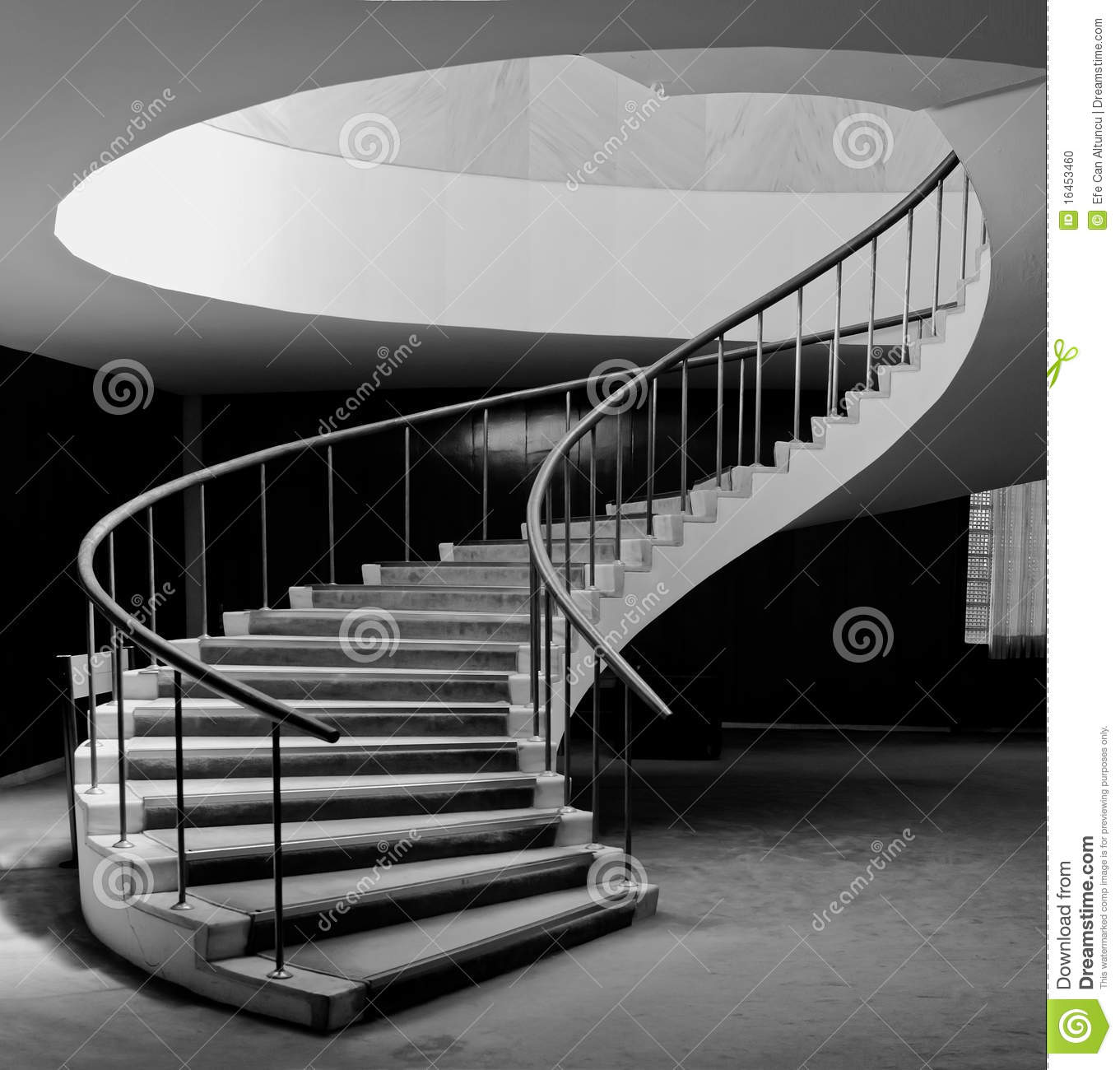 Oval Office Floor Plan Spiral Staircase Stock Photo Image 16453460