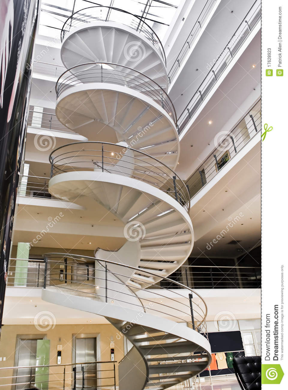 Spiral Staircase Stock Image Image Of Twist Twisting