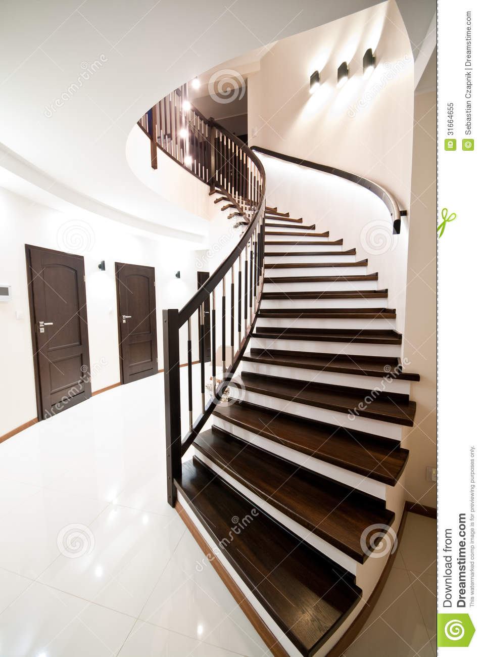 Spiral stairs stock image image of still stairs stair for Square spiral staircase plans hall