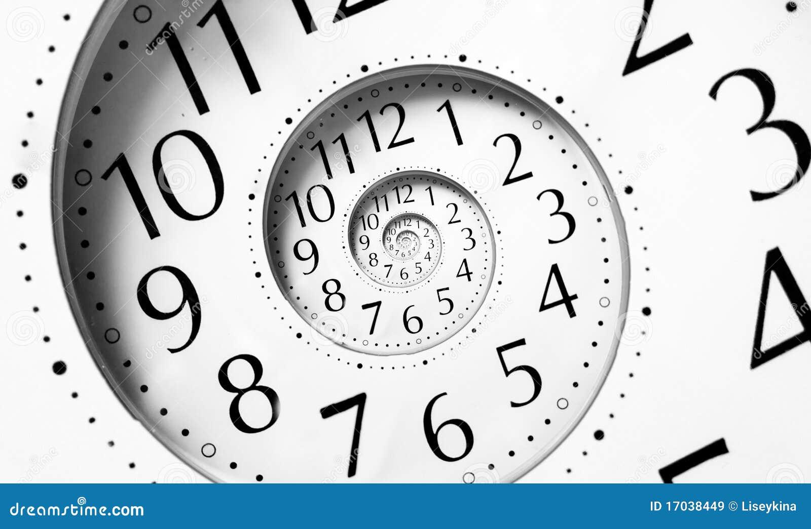 Spiral tid för oändlighet