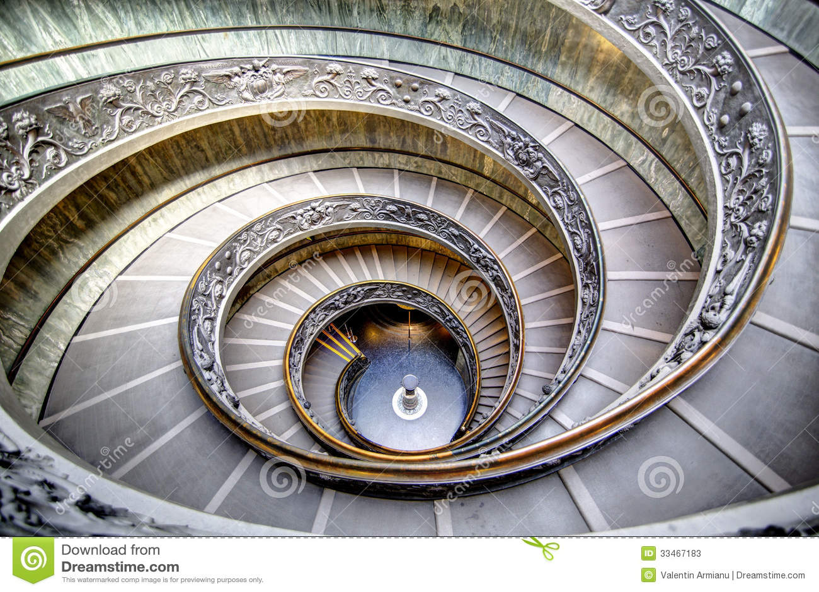 Spiral trappa i Vaticanen