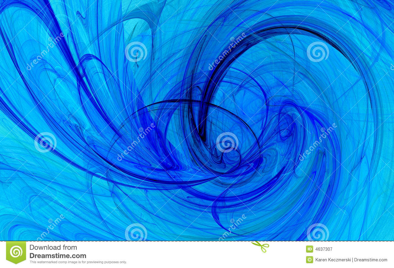 Girly Background Royalty Free Stock Photo: Spiral Twist Blue Backgrounds Stock Illustration