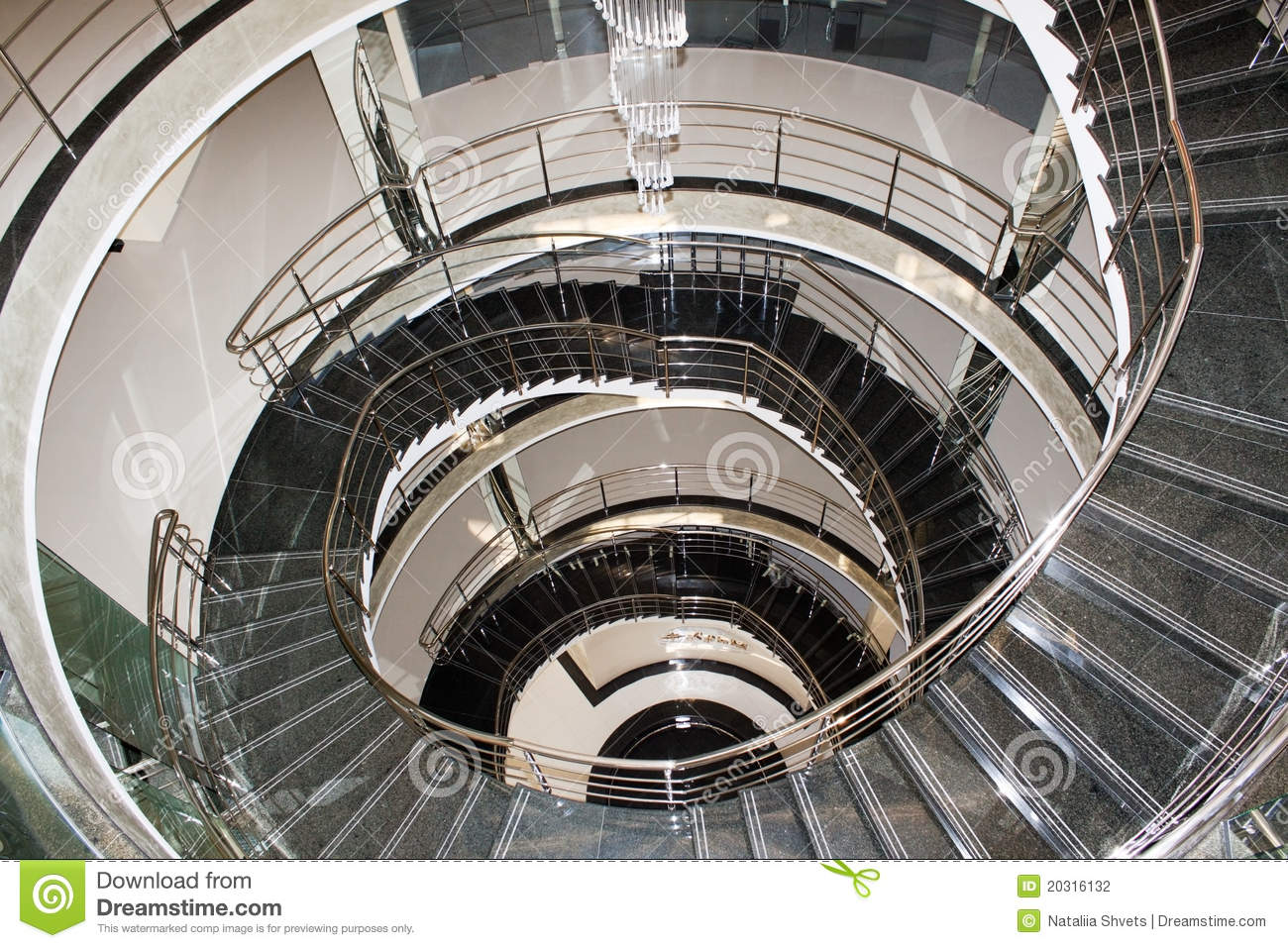 Spiral Winding Stairs