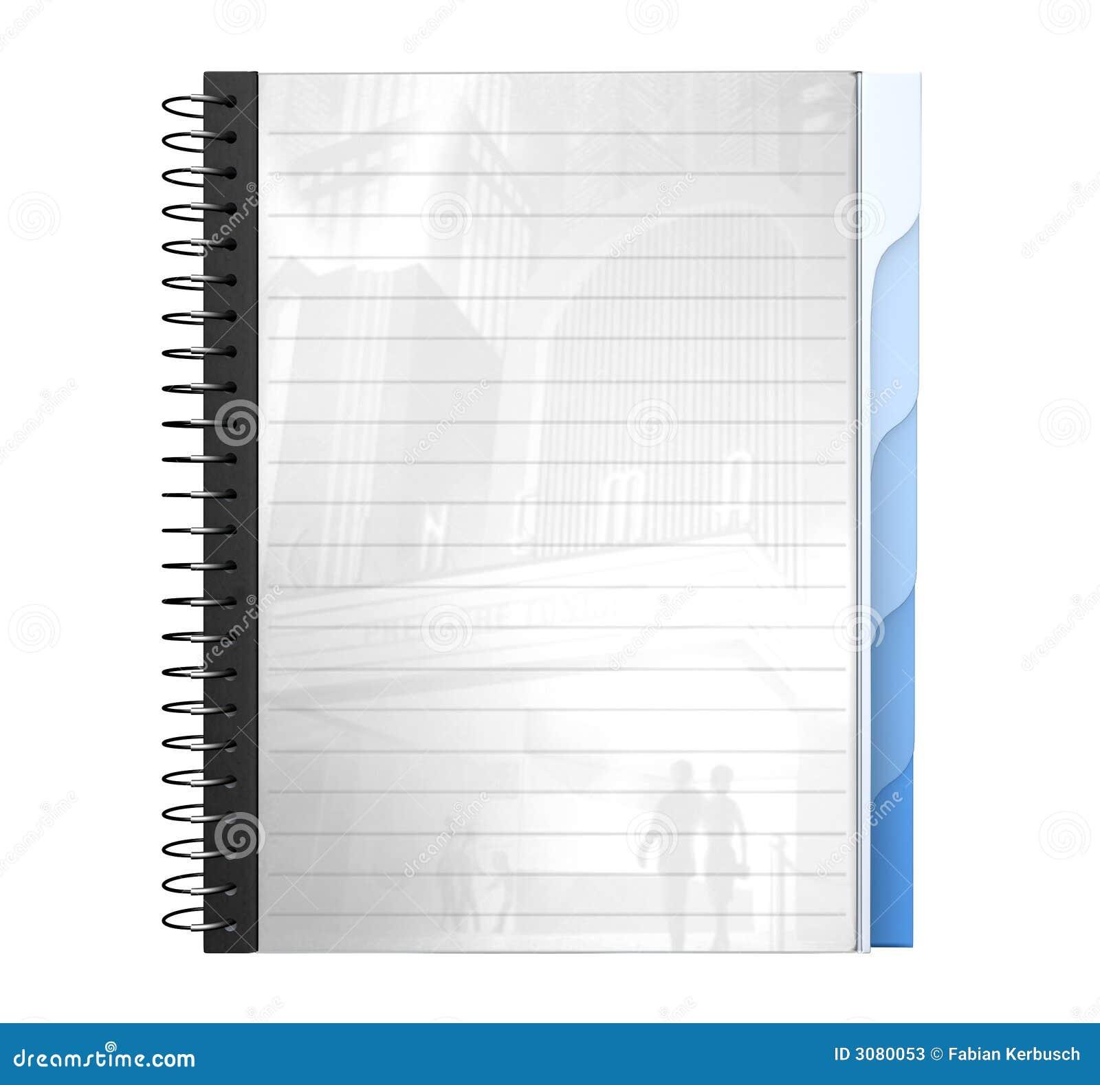 Spiral Writing Pad Stock Photos Image 3080053