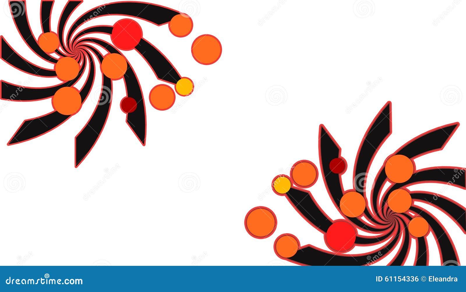 Spirales et cercles