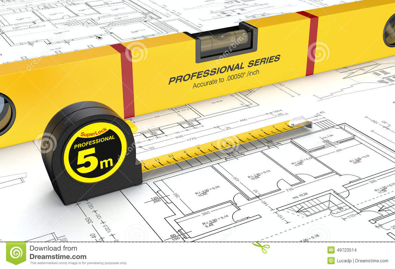 Spirit level and tape measure stock illustration illustration of spirit level and tape measure pooptronica