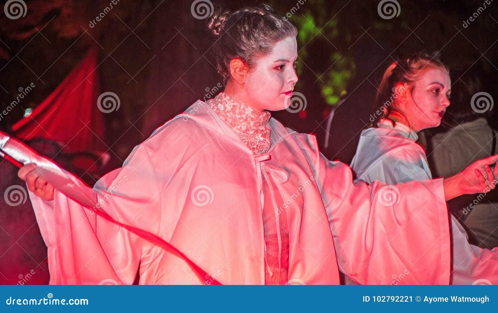 Spirits in the underworld at Halloween