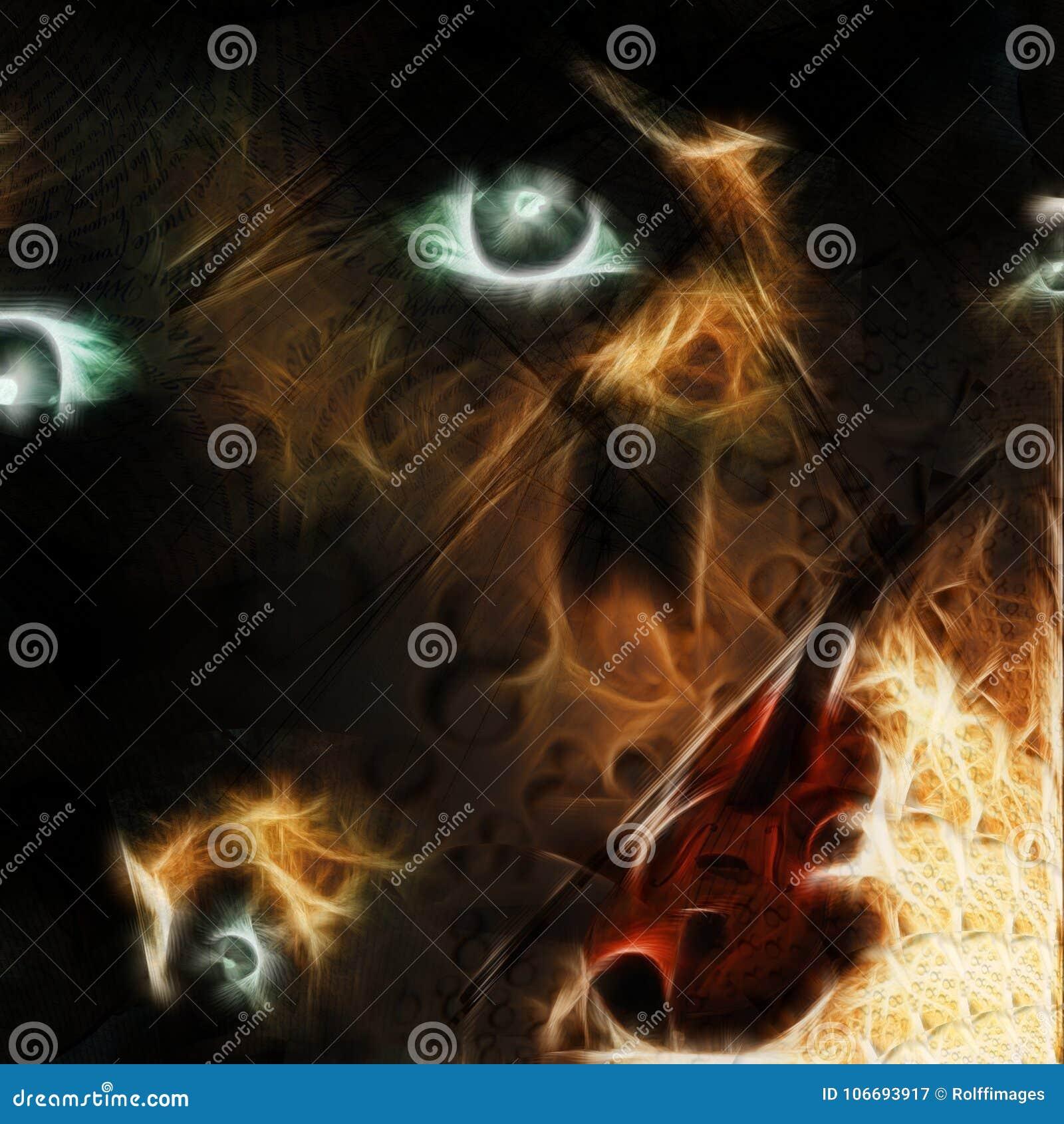 Eternal Music stock illustration  Illustration of eternal - 106693917