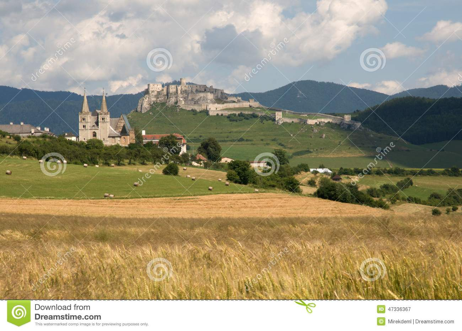 Spisska Kapitula and Spis castle, Slovakia