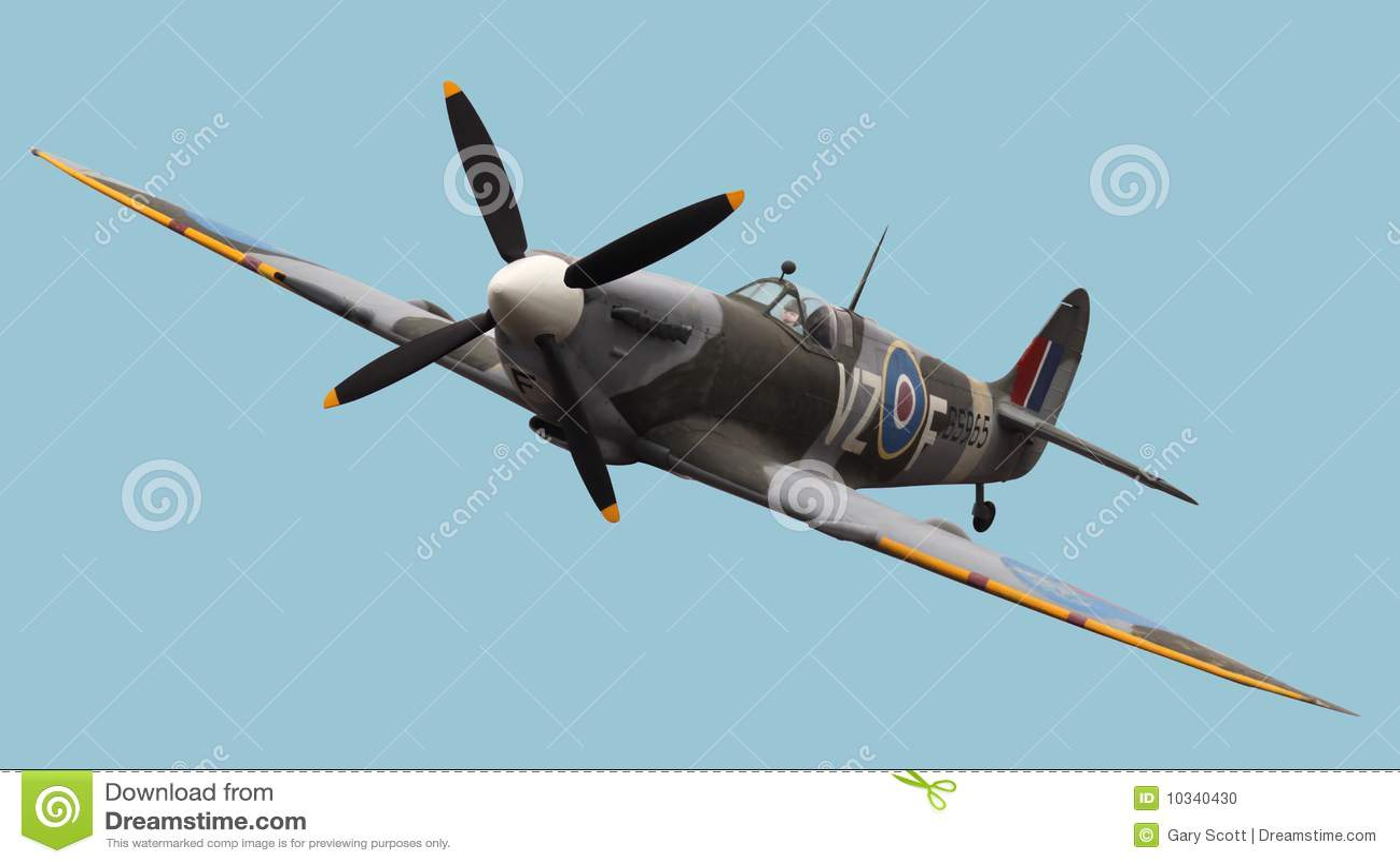Spitfire d isolement