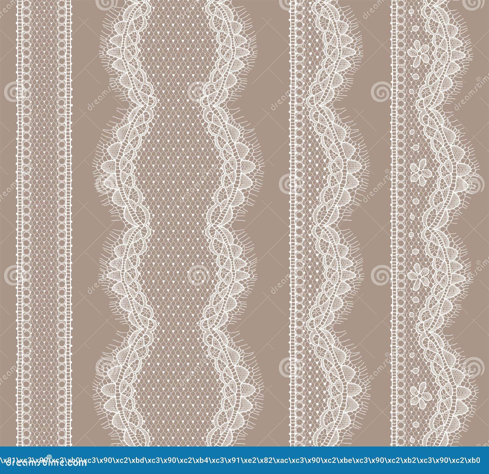 spitze band nahtloses muster vektor abbildung bild 54664937. Black Bedroom Furniture Sets. Home Design Ideas