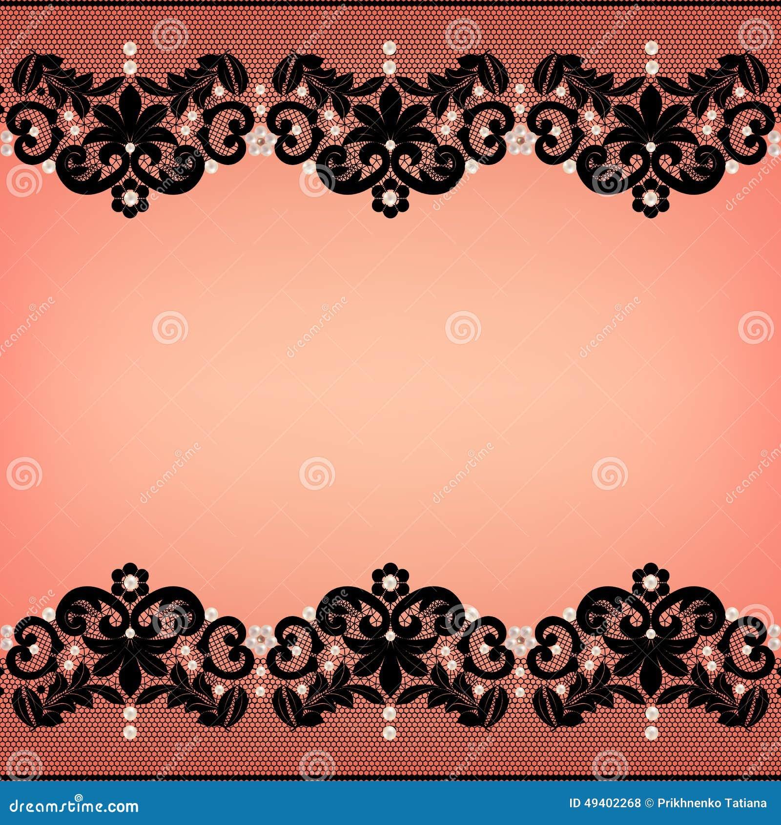 Download Spitzensäume vektor abbildung. Illustration von karte - 49402268