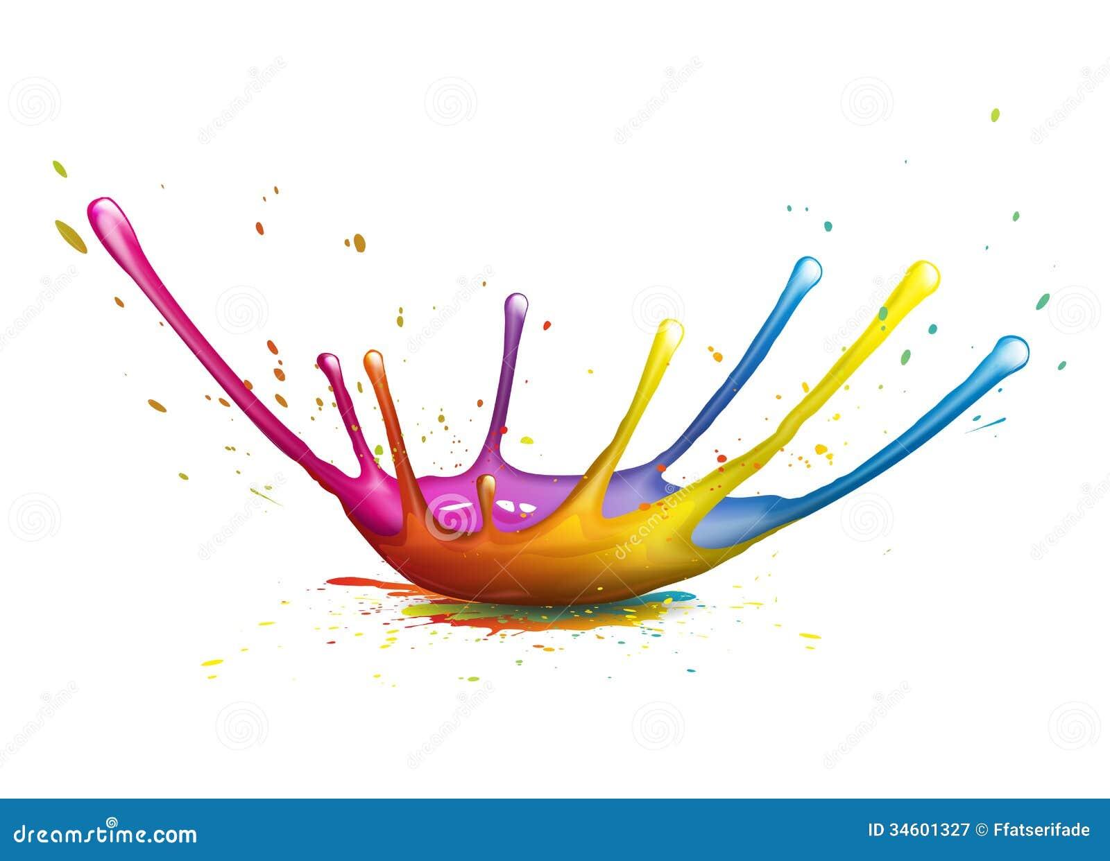 Splash Royalty Free Stock Photography - Image: 34601327